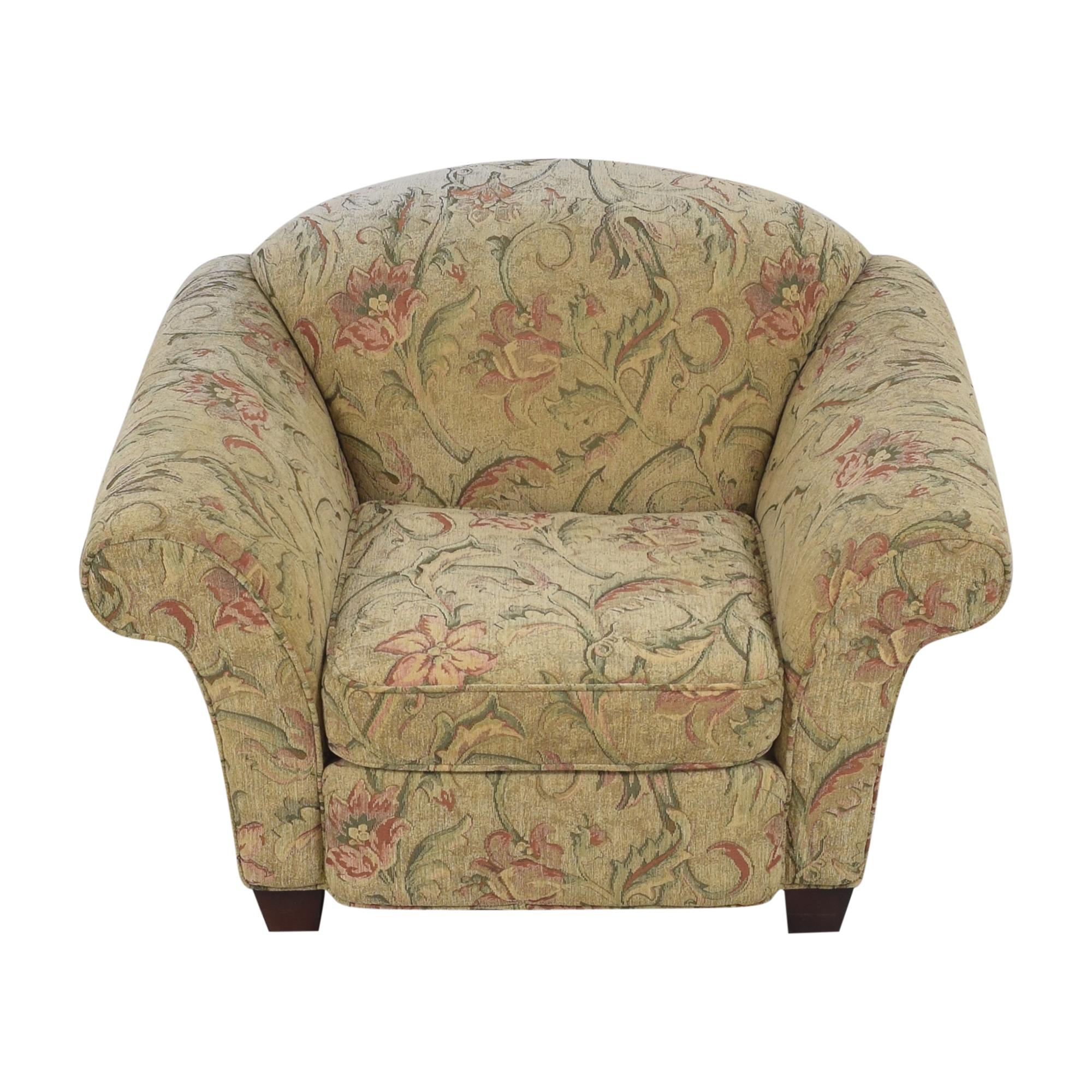 shop Braxton Culler Braxton Culler Floral Roll Arm Chair online