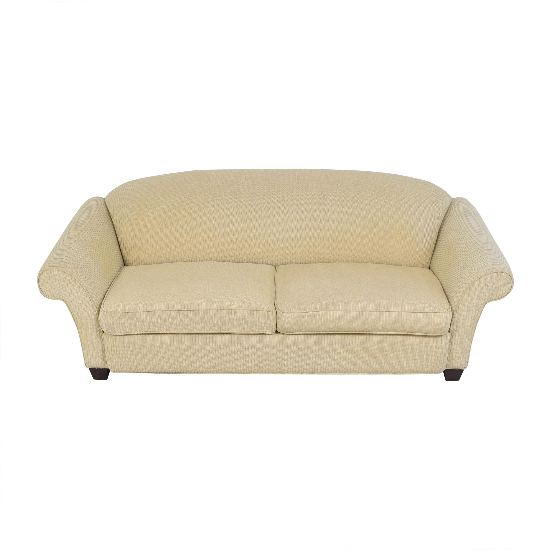 Braxton Culler Braxton Culler Two Cushion Roll Arm Sofa nyc