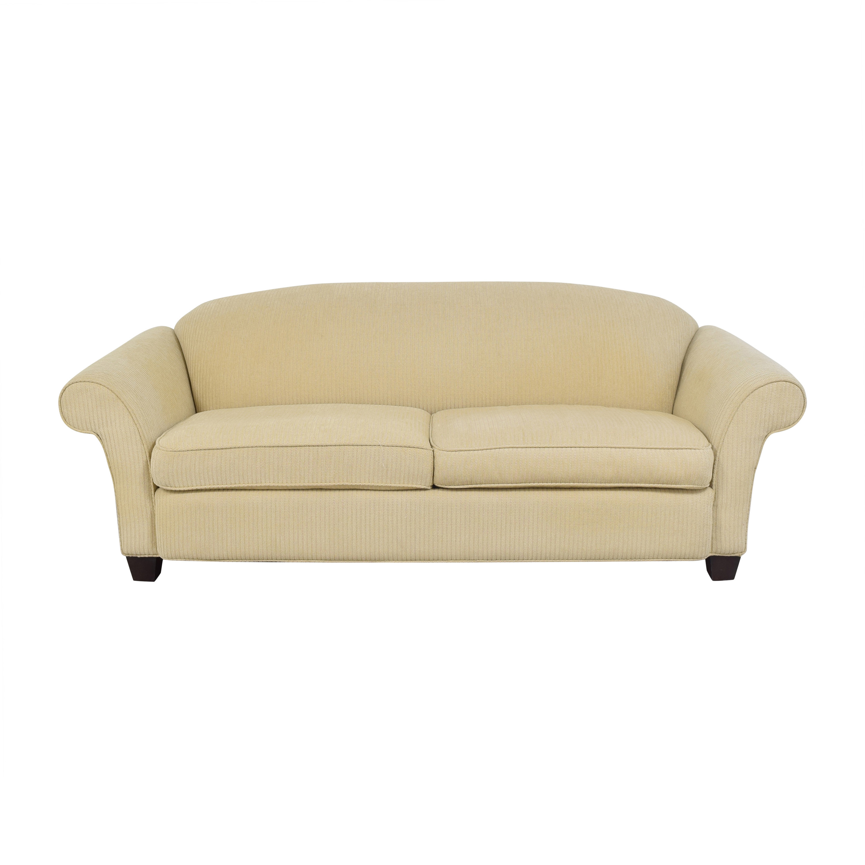 Braxton Culler Two Cushion Roll Arm Sofa / Sofas