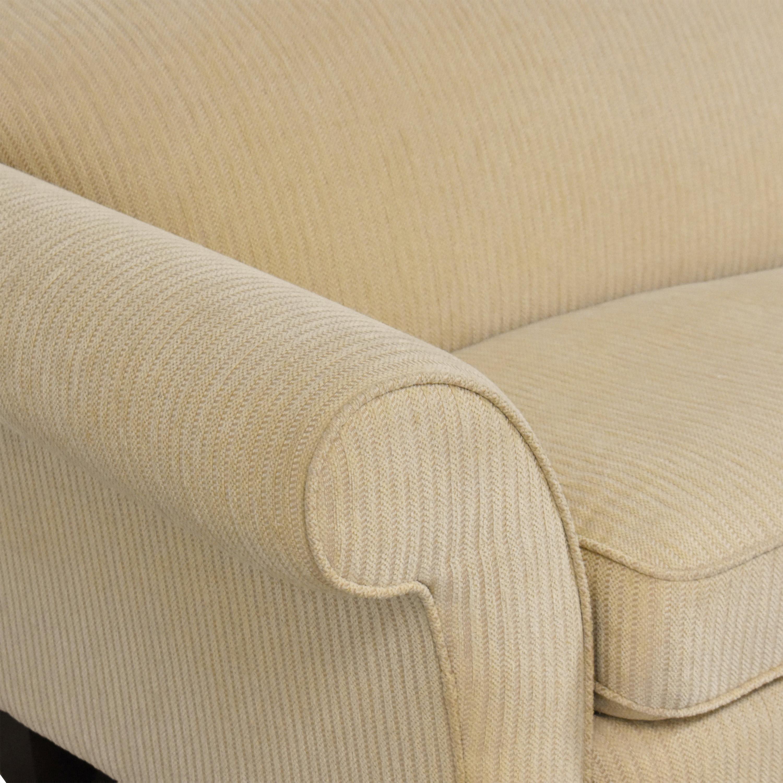 buy Braxton Culler Two Cushion Roll Arm Sofa Braxton Culler Classic Sofas