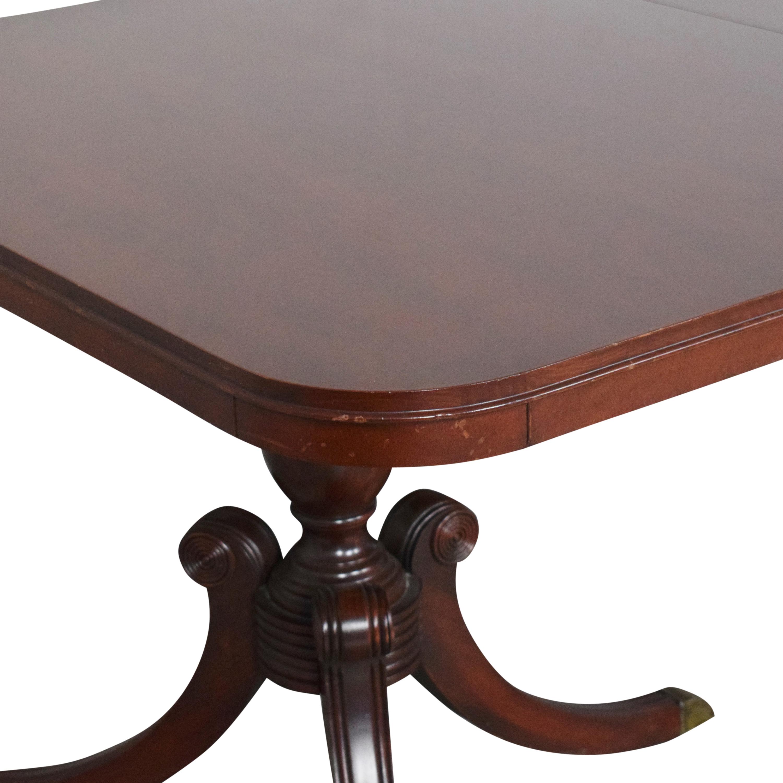 Drexel Heritage Drexel Heritage Double Pedestal Dining Table Dinner Tables