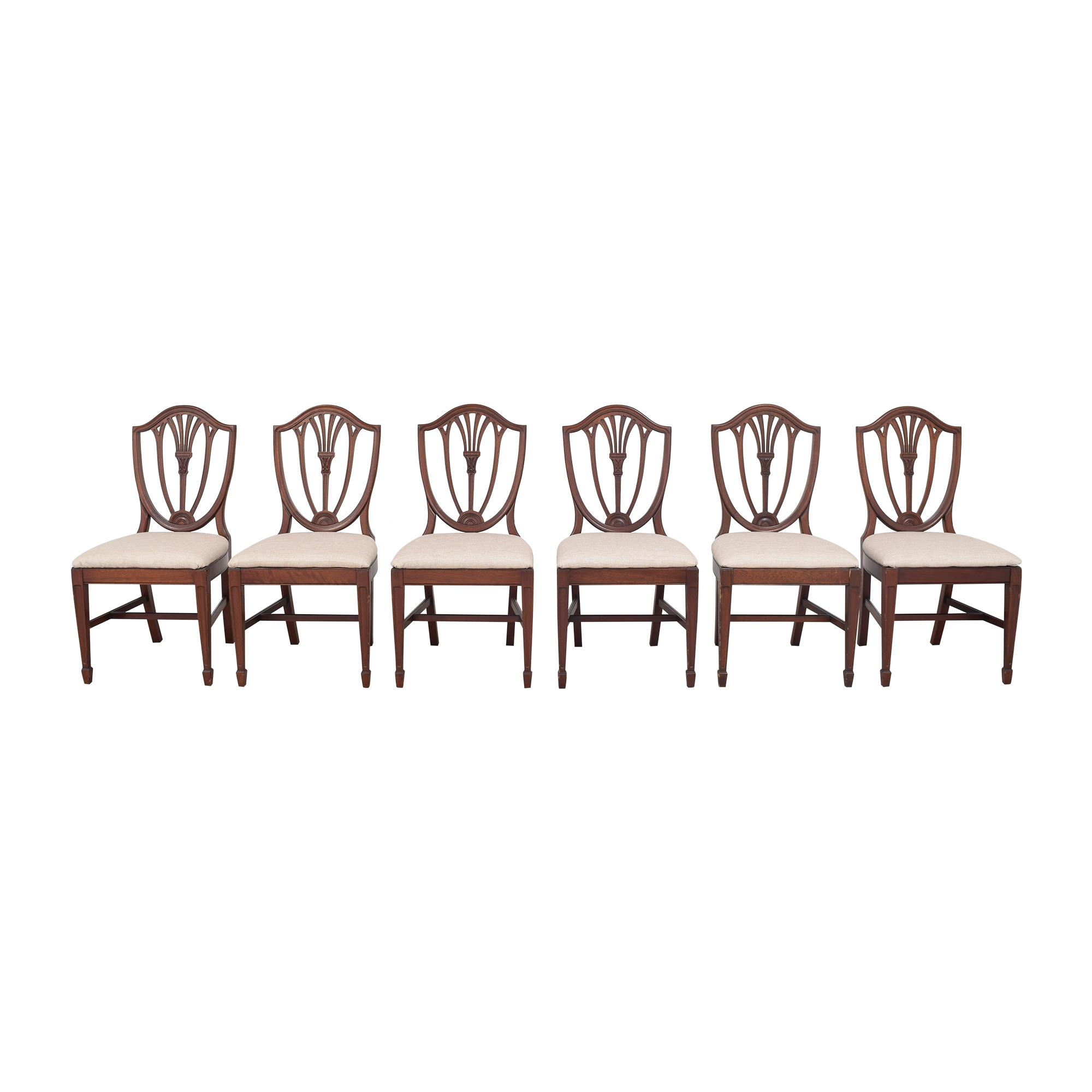 shop Drexel Heritage Shield Back Dining Chairs Drexel Heritage Dining Chairs