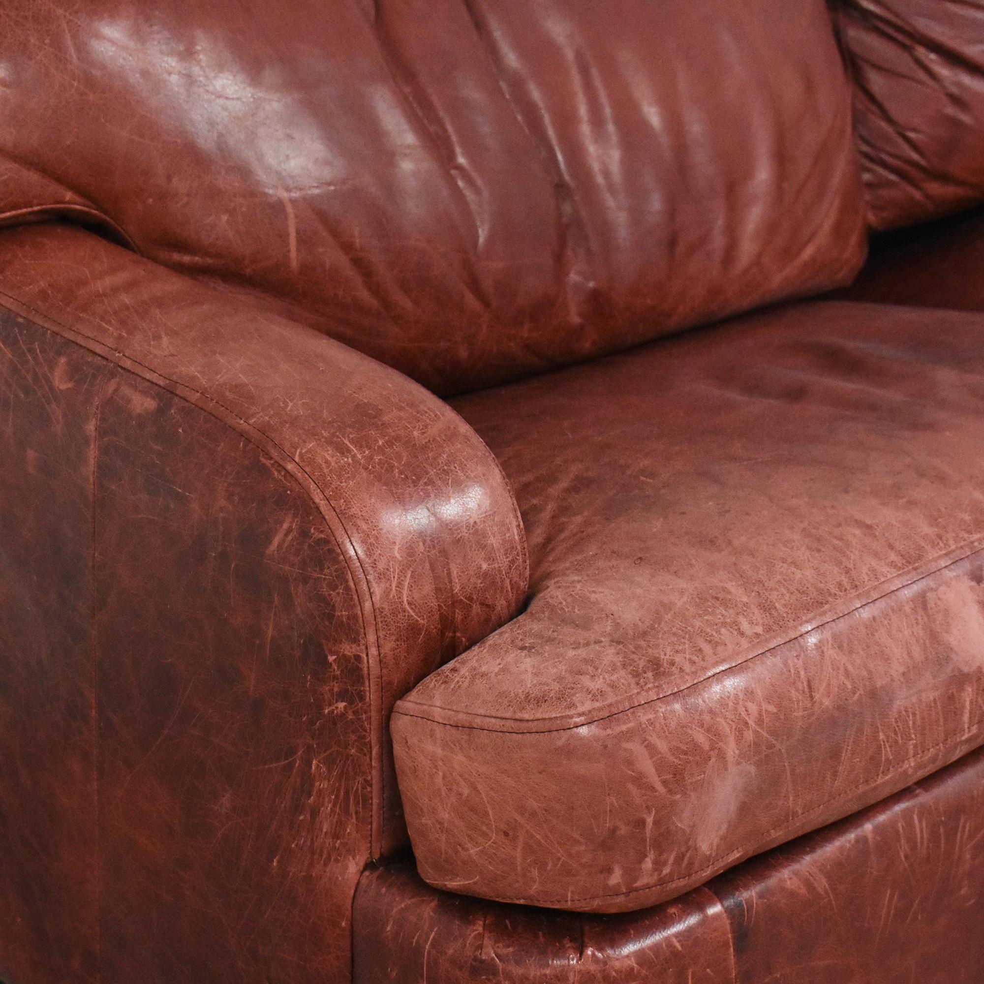 Leather Sleeper Sofa nyc