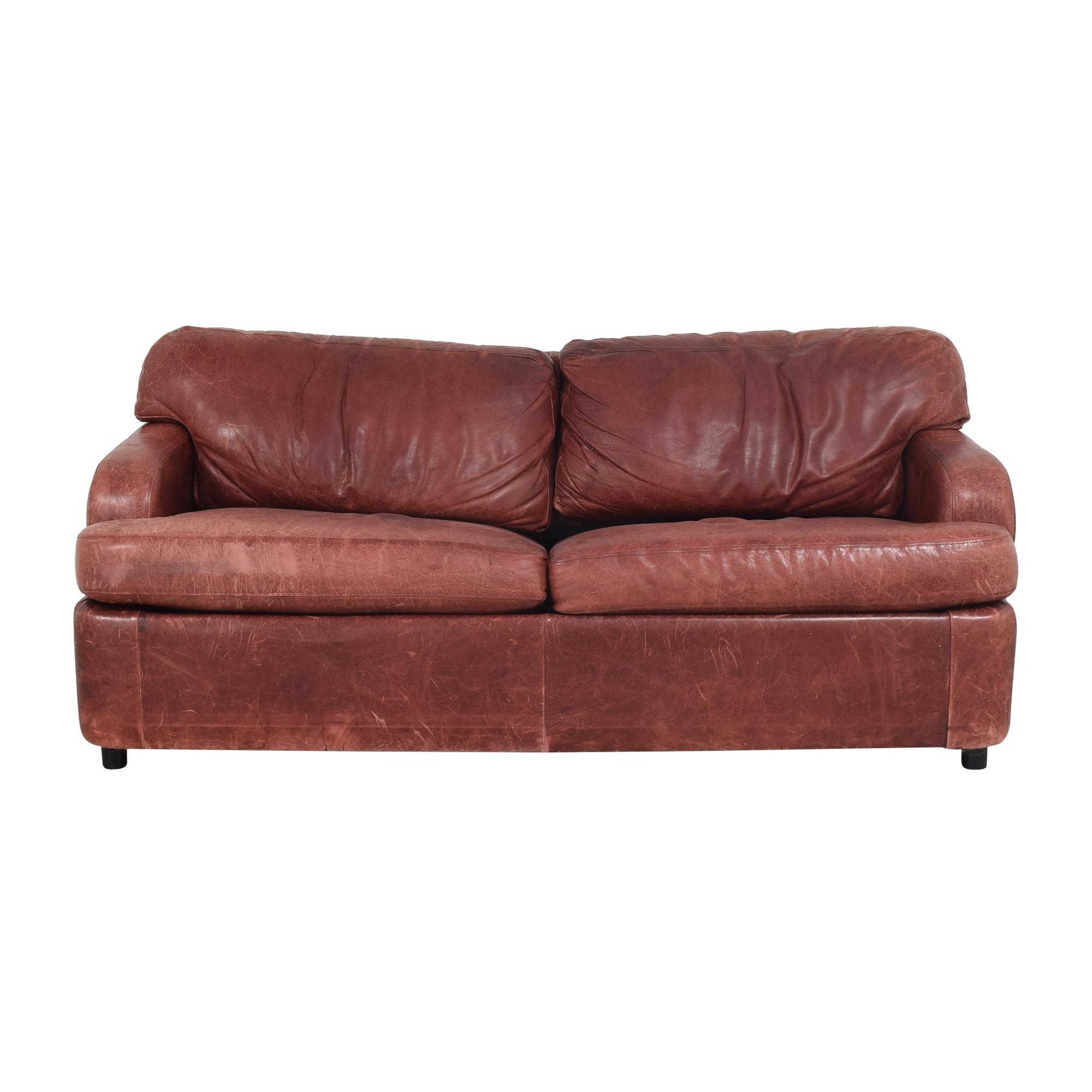 Leather Sleeper Sofa ma