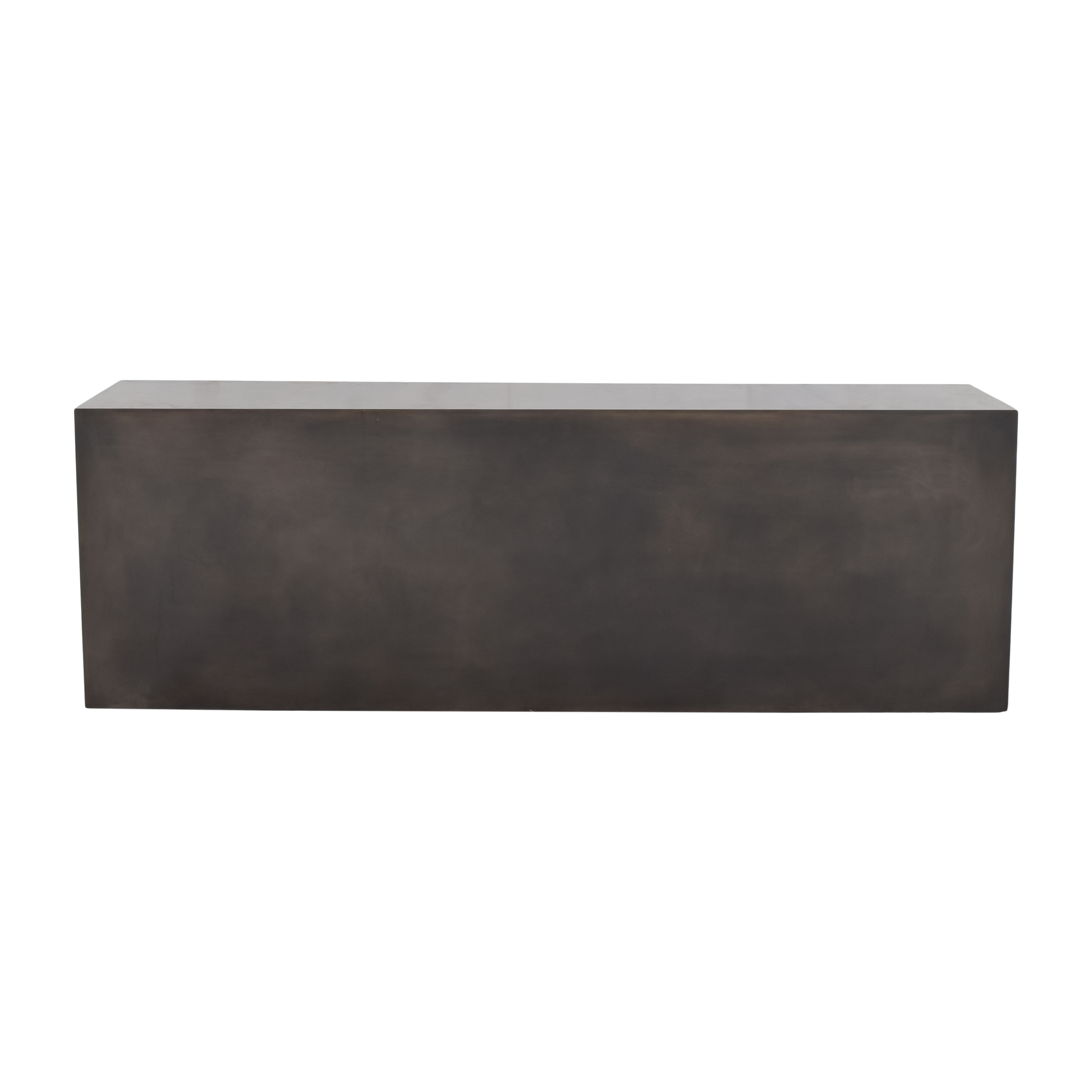 Rectangular Open-Back Coffee Table on sale