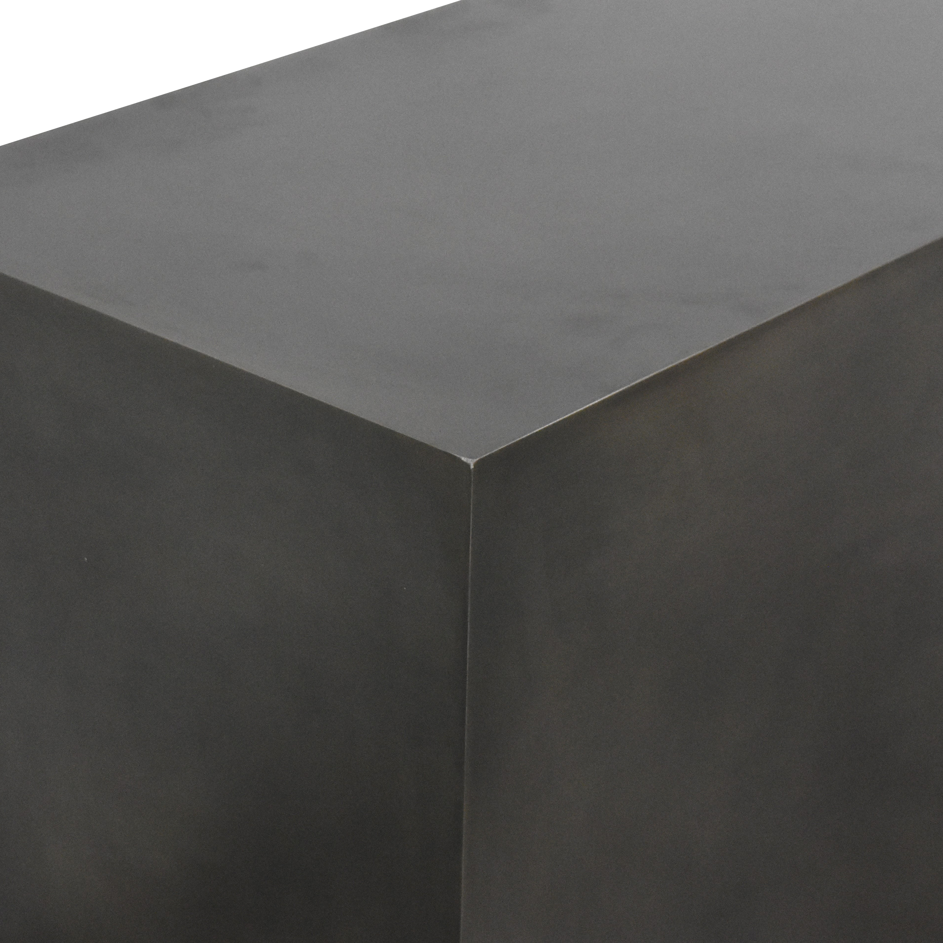Rectangular Open-Back Coffee Table Tables