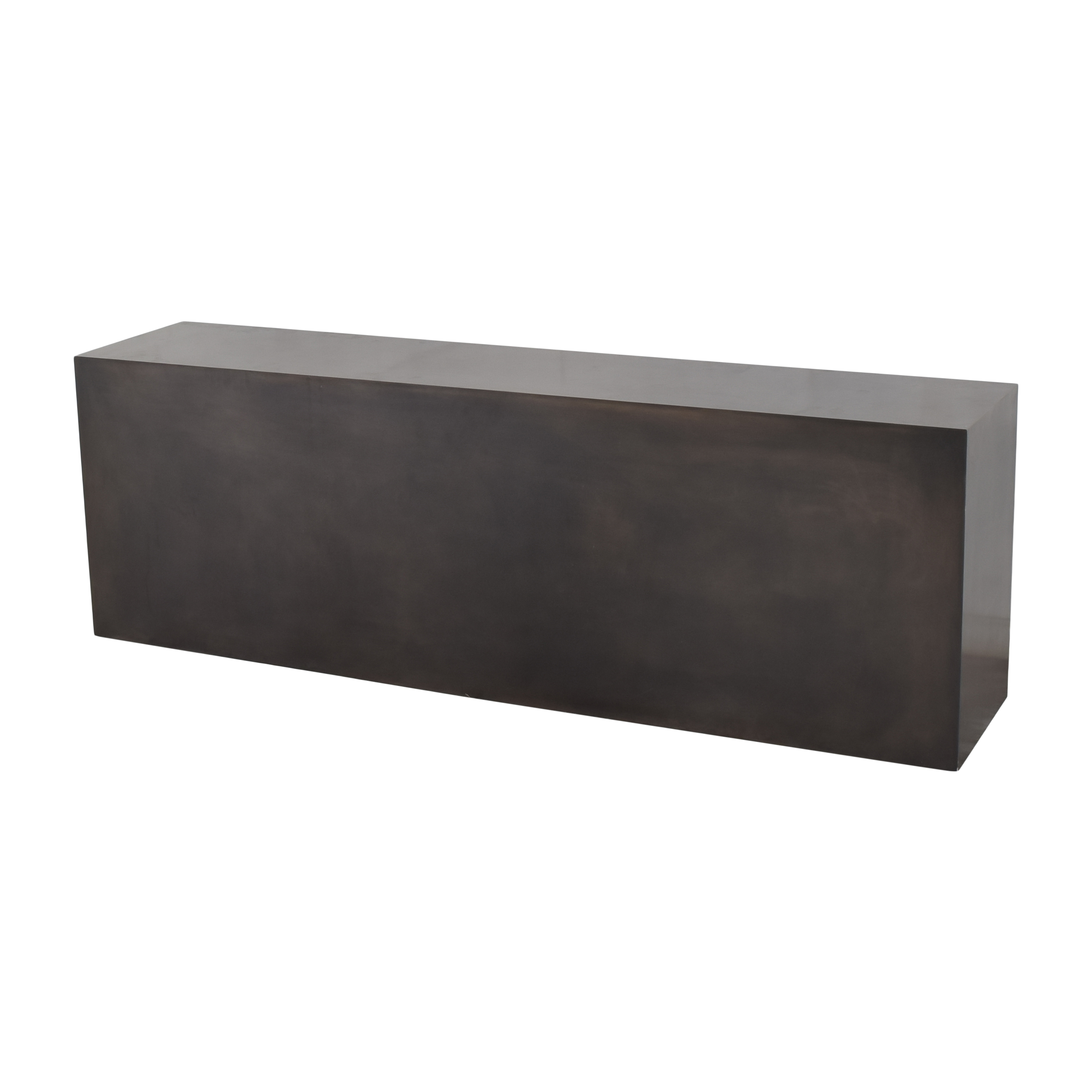 Rectangular Open-Back Coffee Table discount