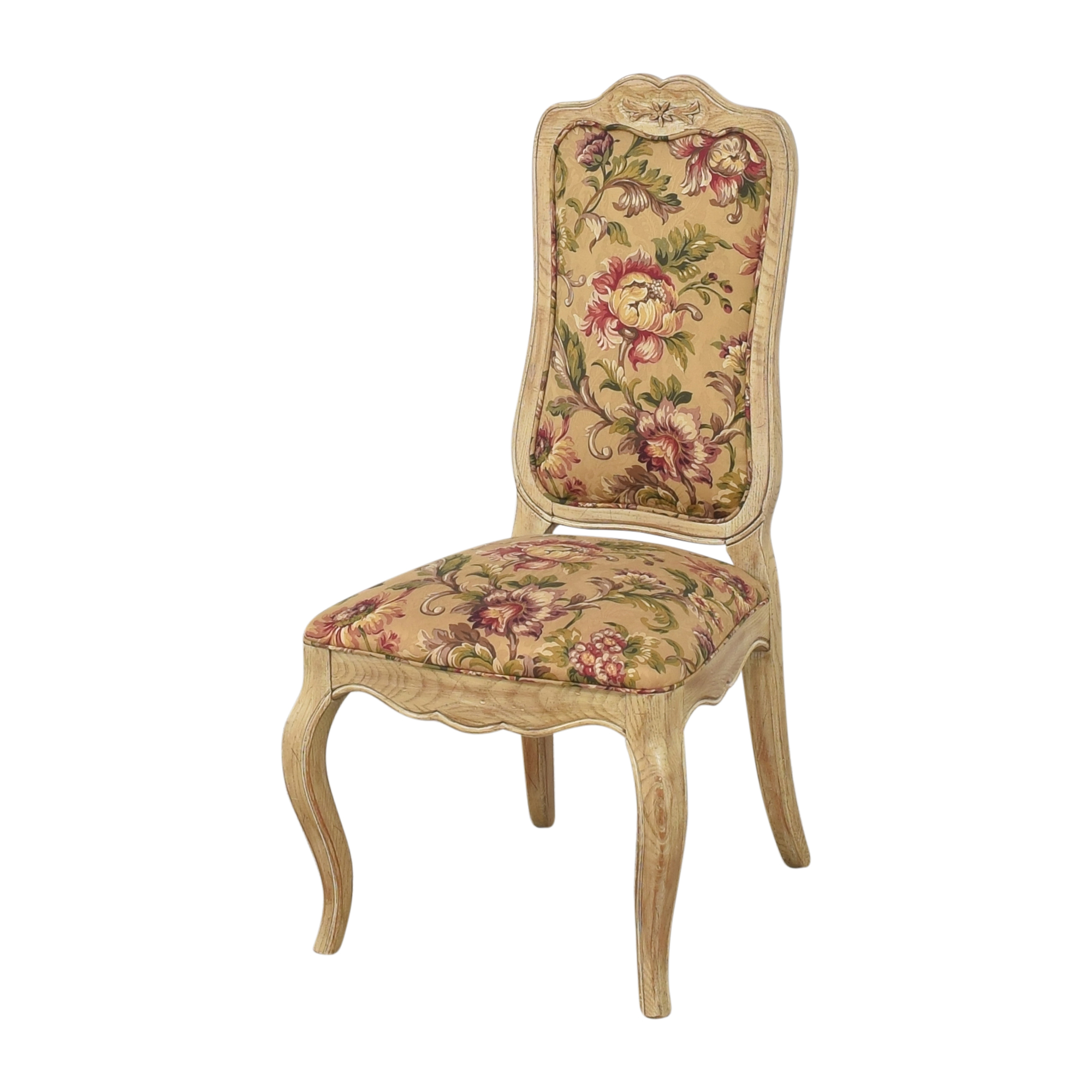 Davis Cabinet Company Davis Cabinet Company Floral Side Chairs ct