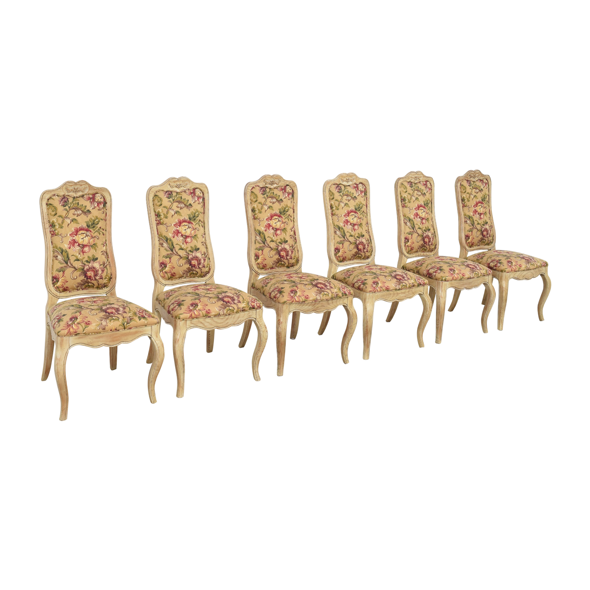 shop Davis Cabinet Company Davis Cabinet Company Floral Side Chairs online