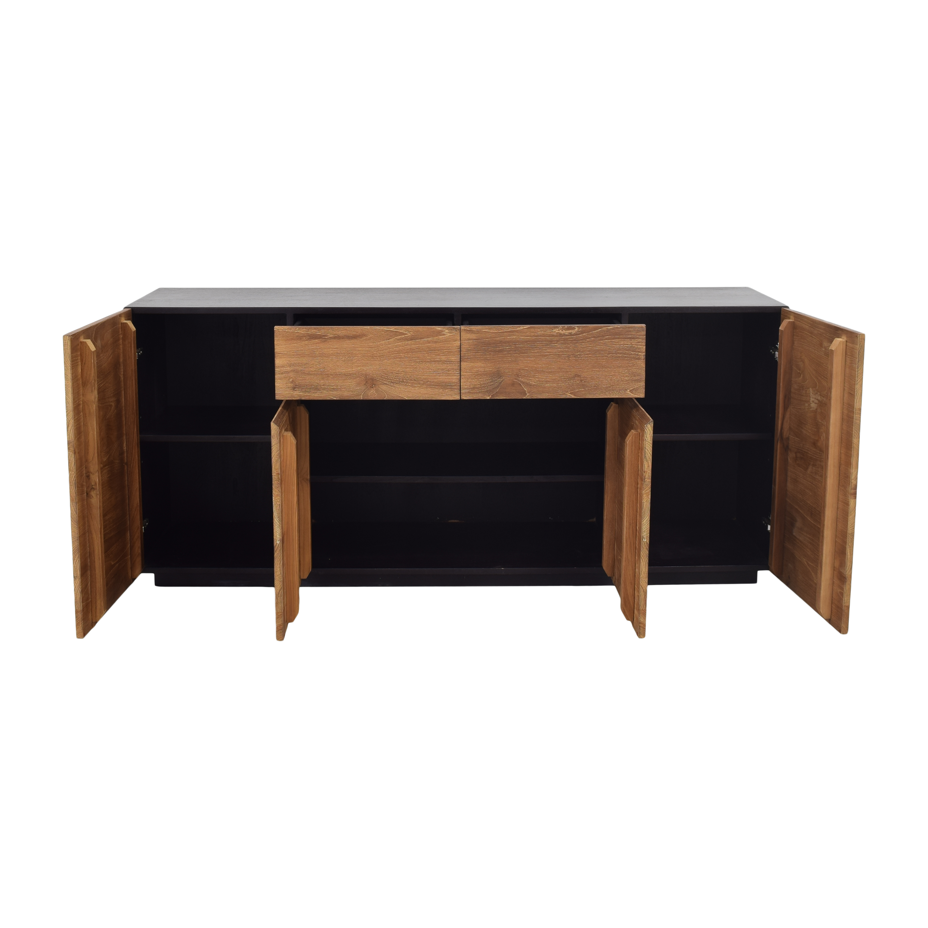 ABC Carpet & Home ABC Carpet & Home Four Door Sideboard brown and black
