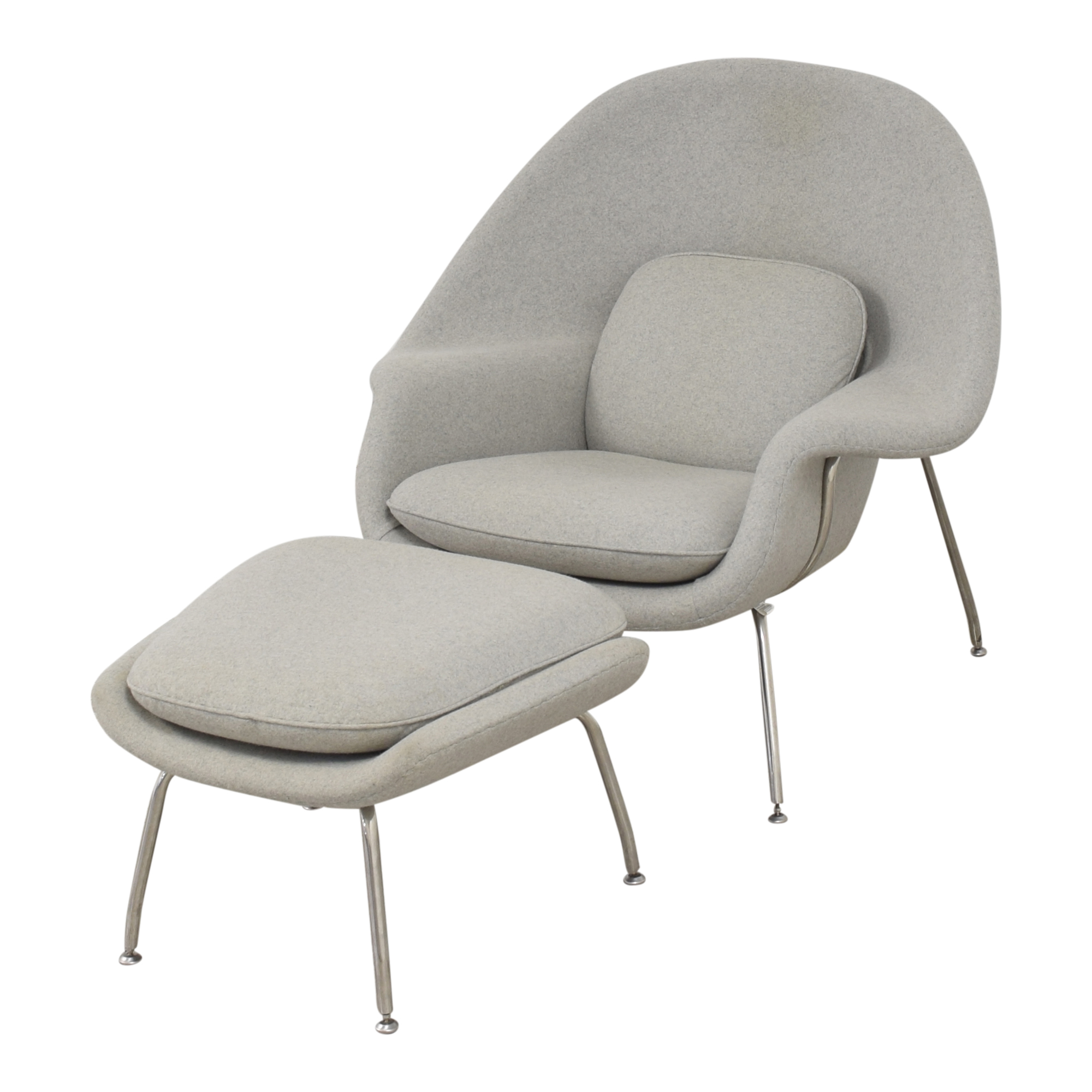 France and Son France and Son Womb Chair with Ottoman second hand