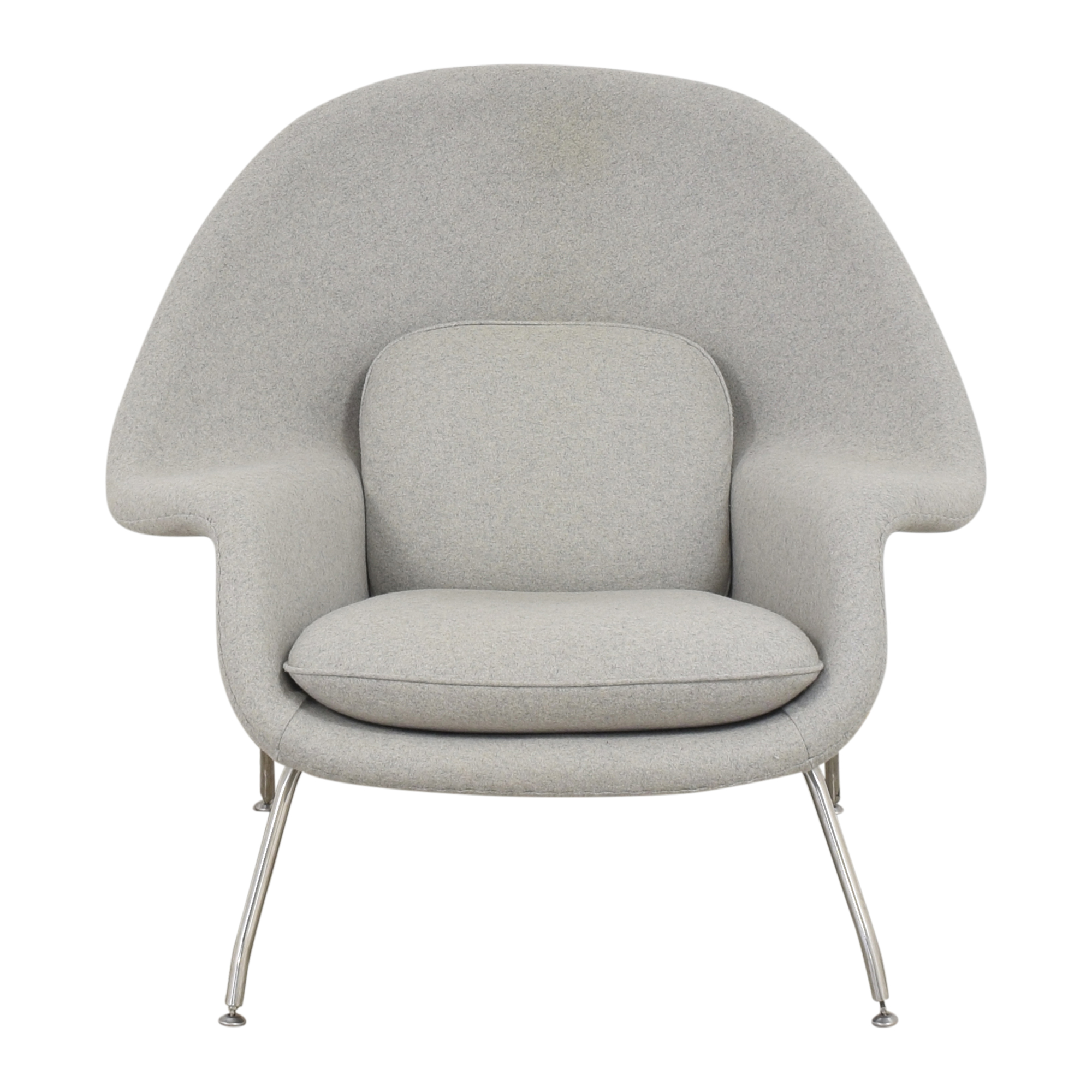 France and Son France and Son Womb Chair with Ottoman