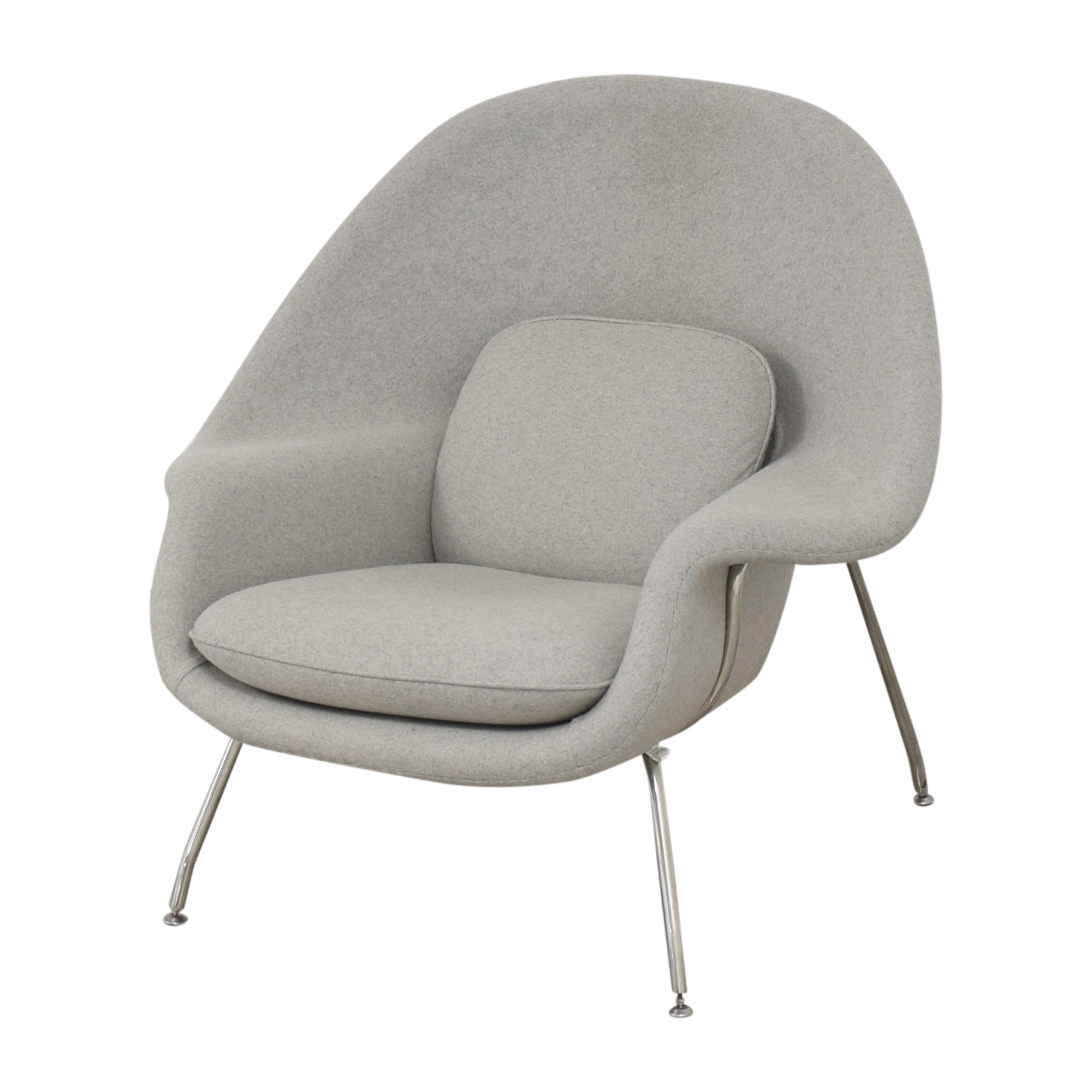 buy France and Son Womb Chair with Ottoman France and Son