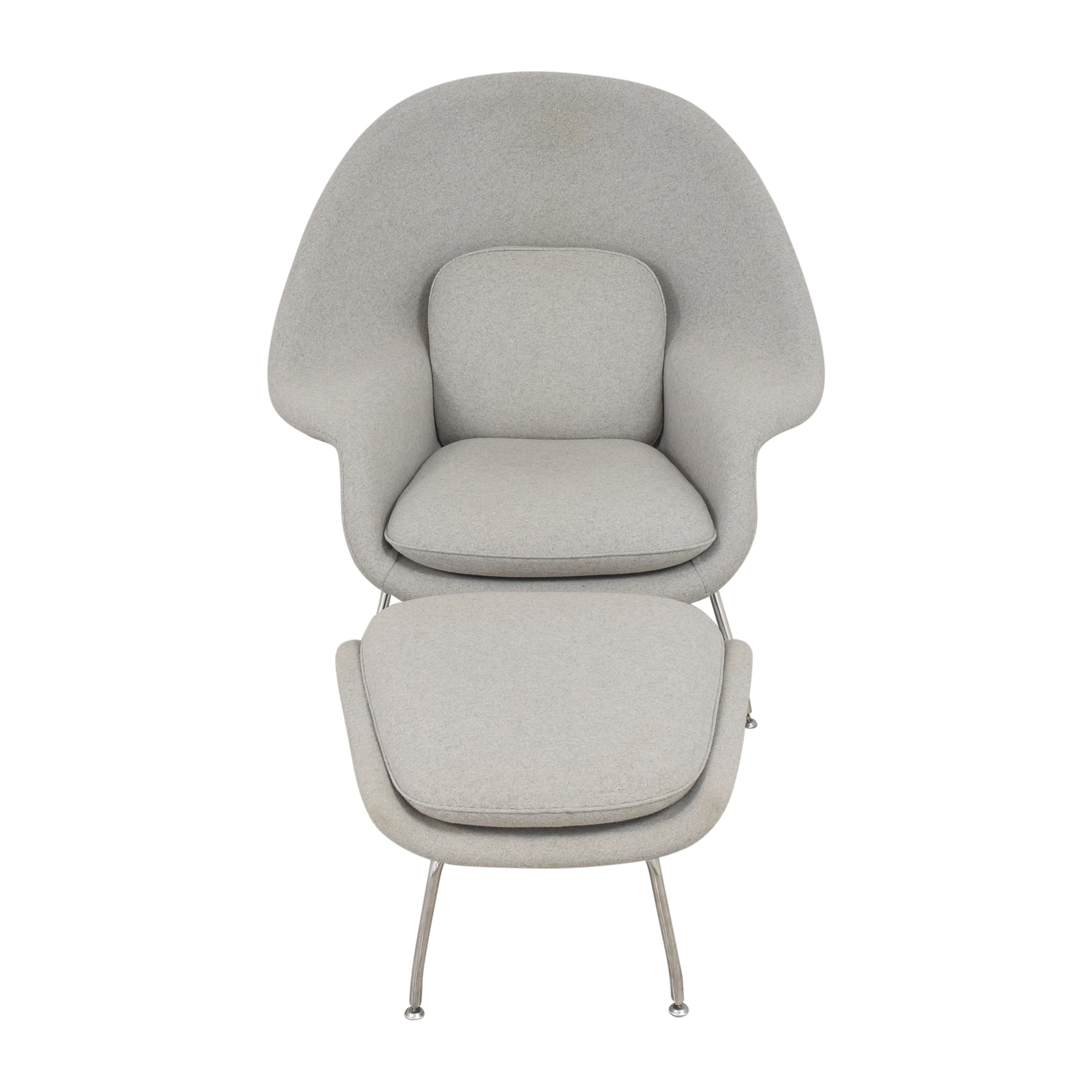 France and Son France and Son Womb Chair with Ottoman for sale