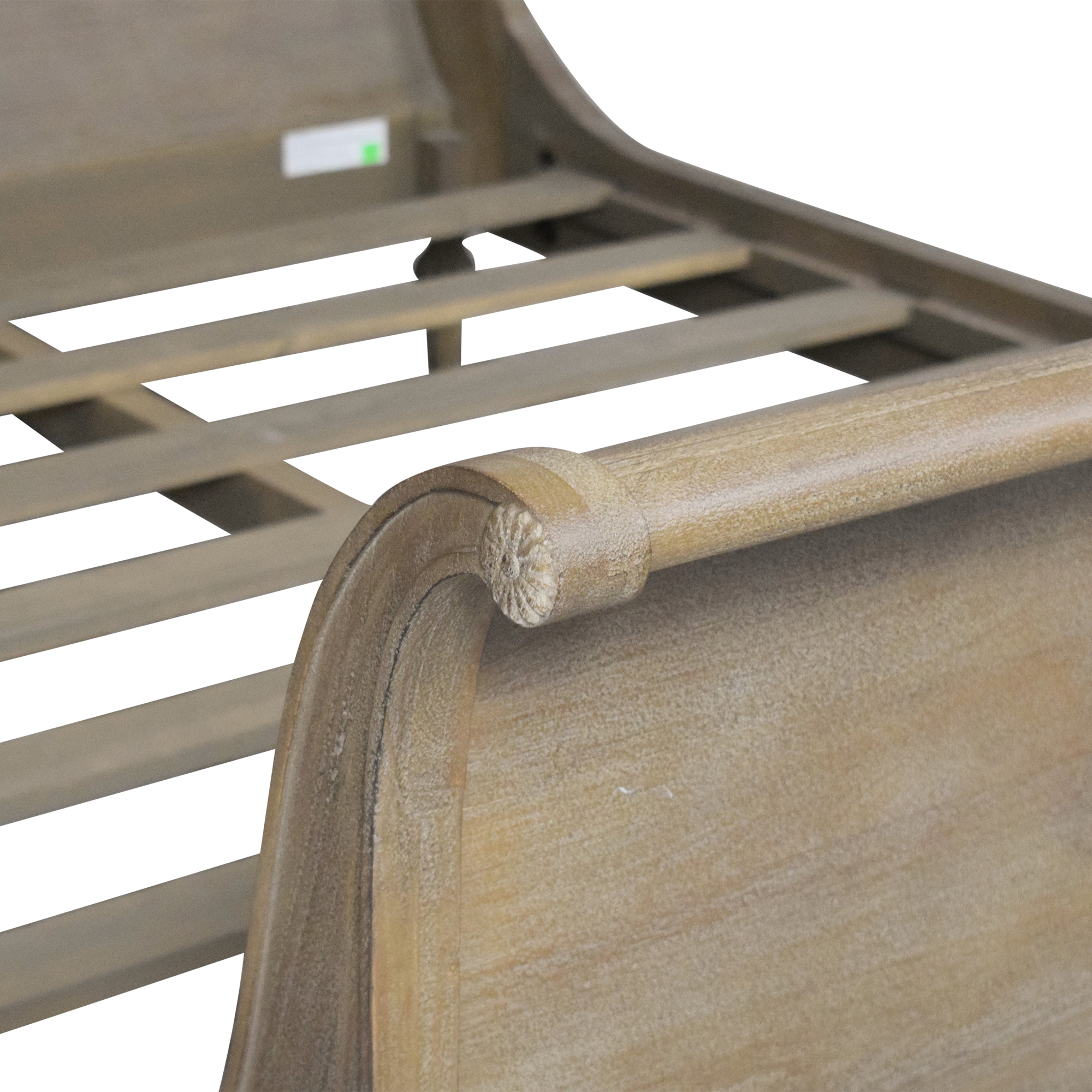 buy Restoration Hardware Empire Rosette Queen Sleigh Bed Restoration Hardware Bed Frames