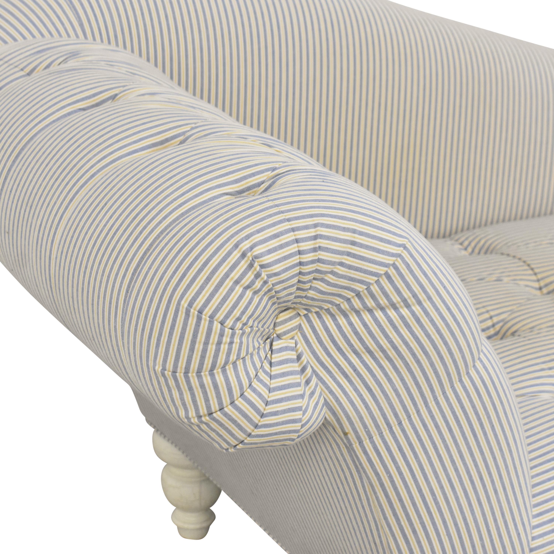 shop ABC Carpet & Home Tufted Chaise Lounge ABC Carpet & Home