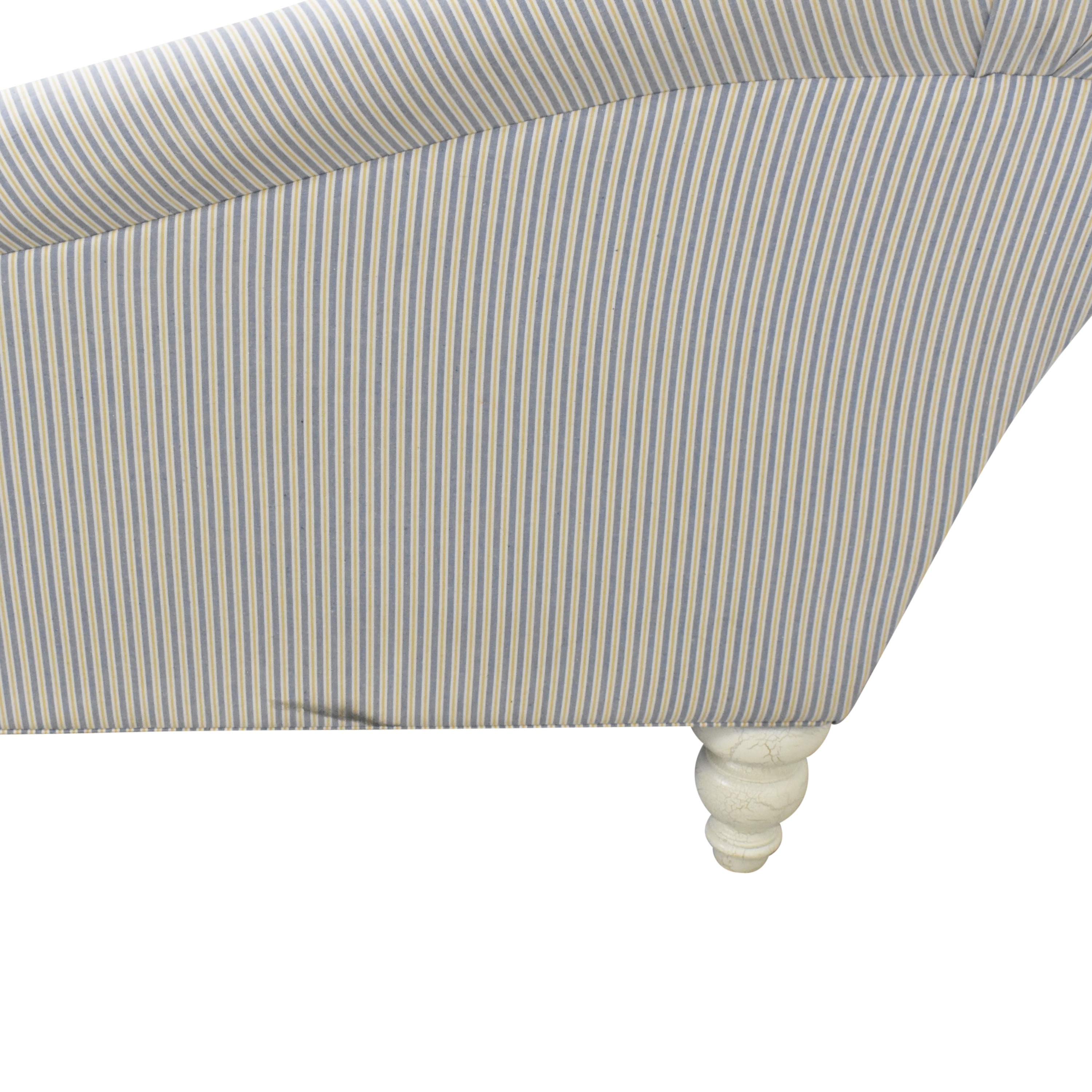 ABC Carpet & Home Tufted Chaise Lounge / Chaises