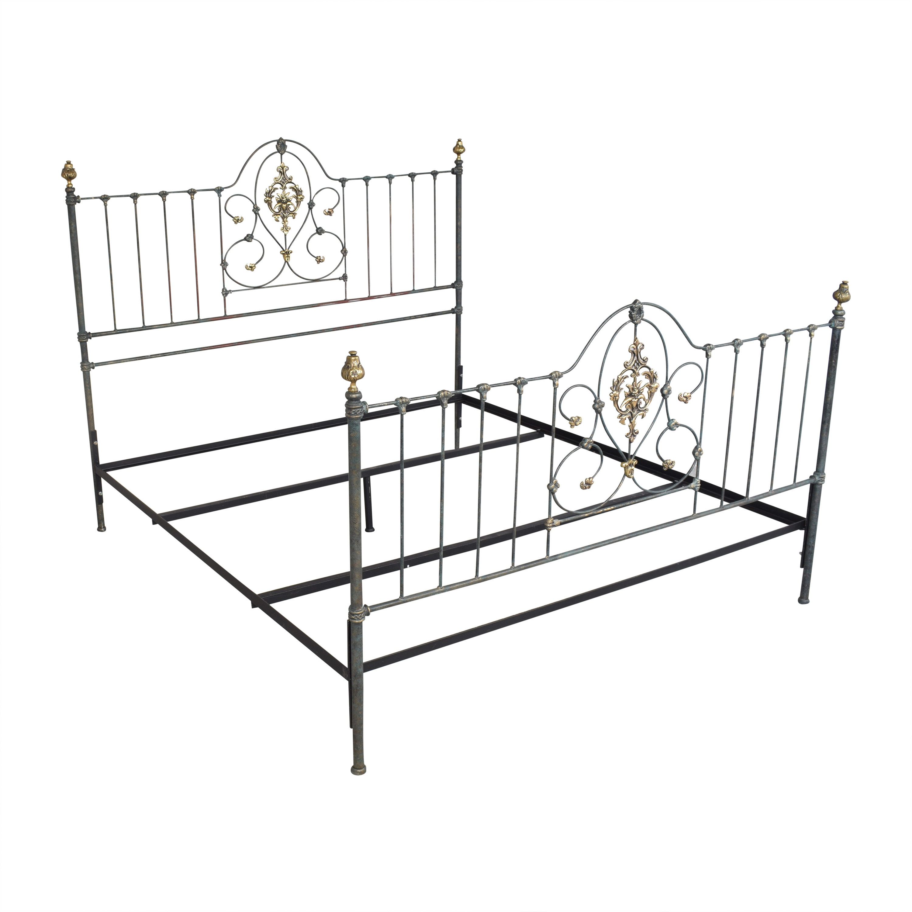shop Charles P. Rogers Openwork King Bed Charles P. Rogers Beds