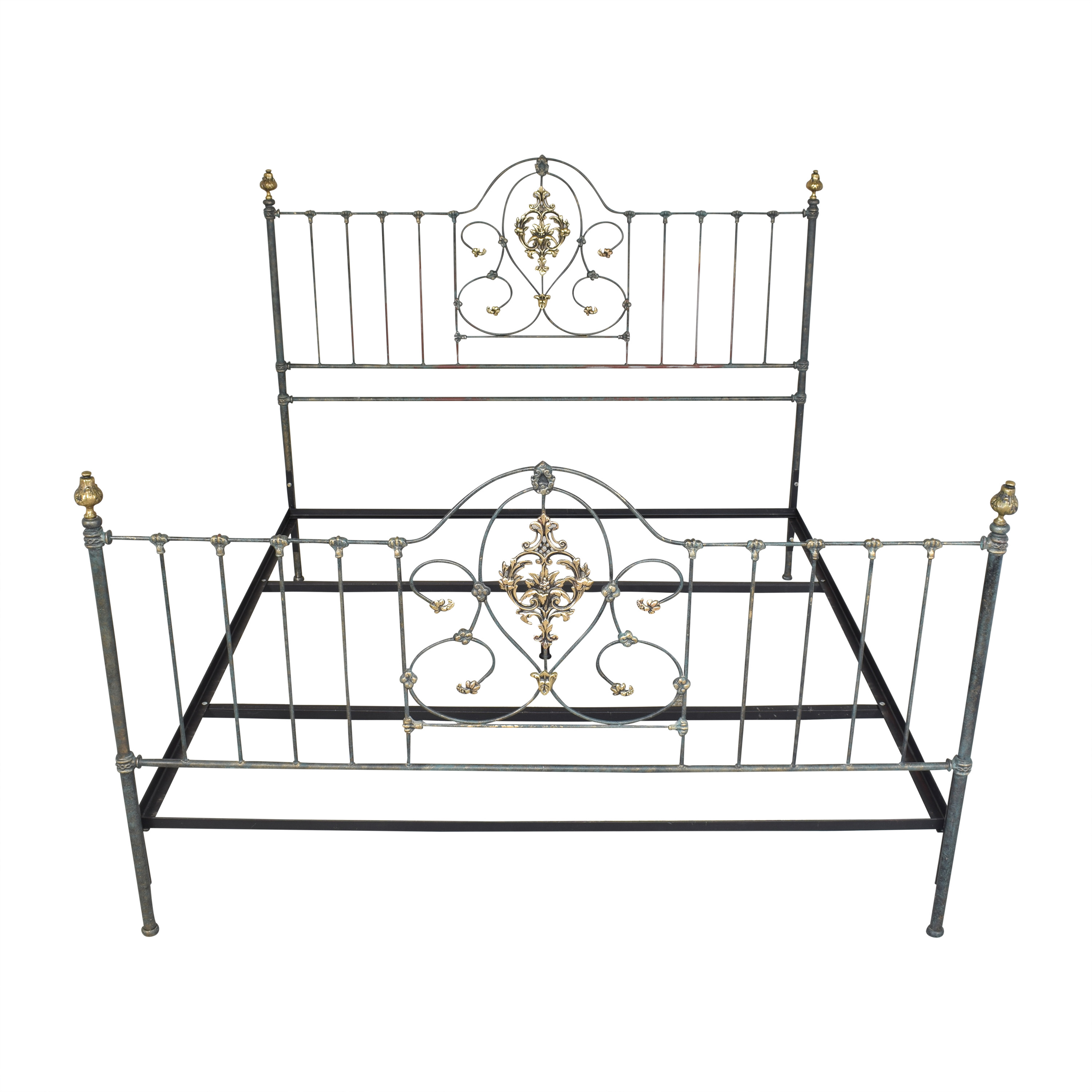 Charles P. Rogers Openwork King Bed Charles P. Rogers