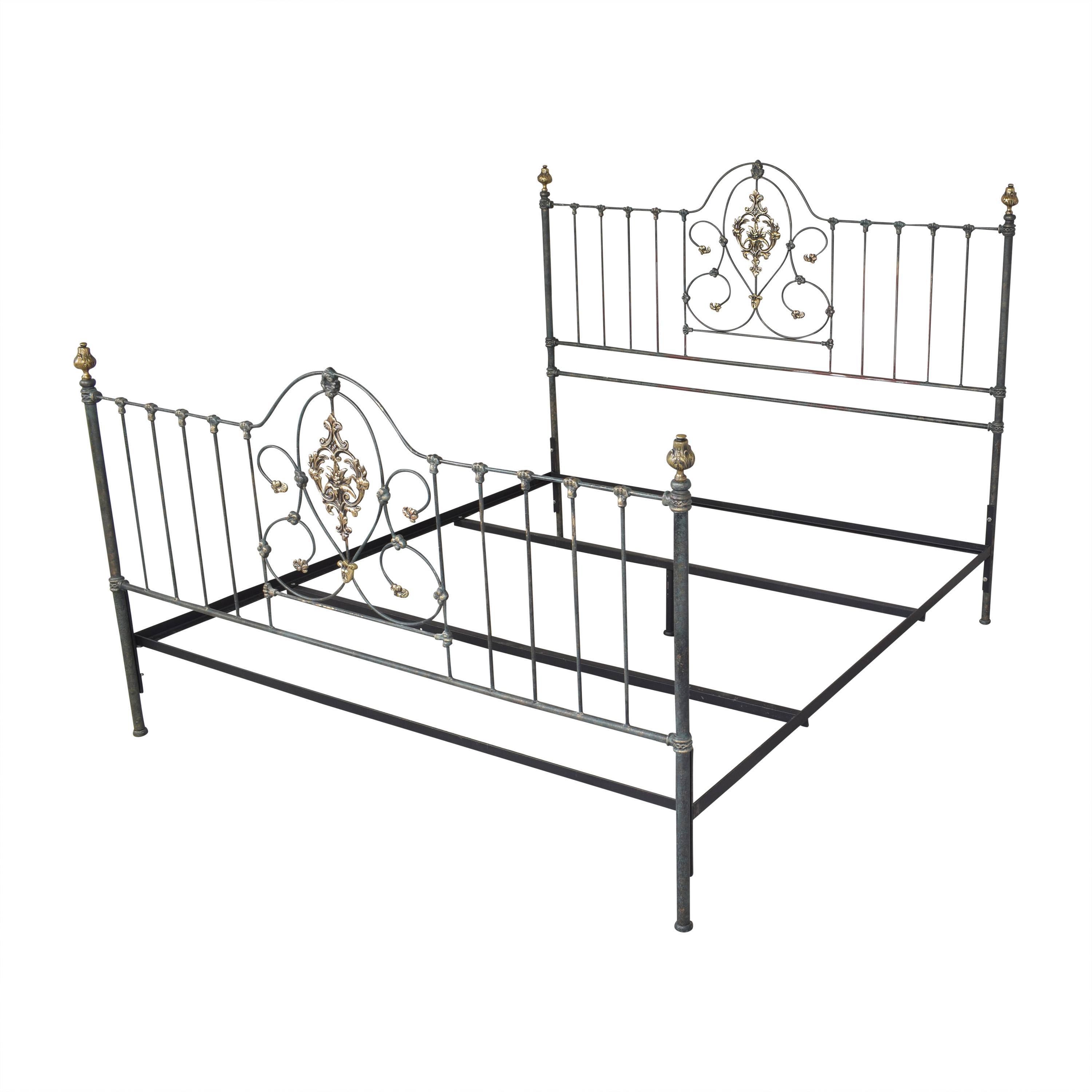 Charles P. Rogers Charles P. Rogers Openwork King Bed for sale