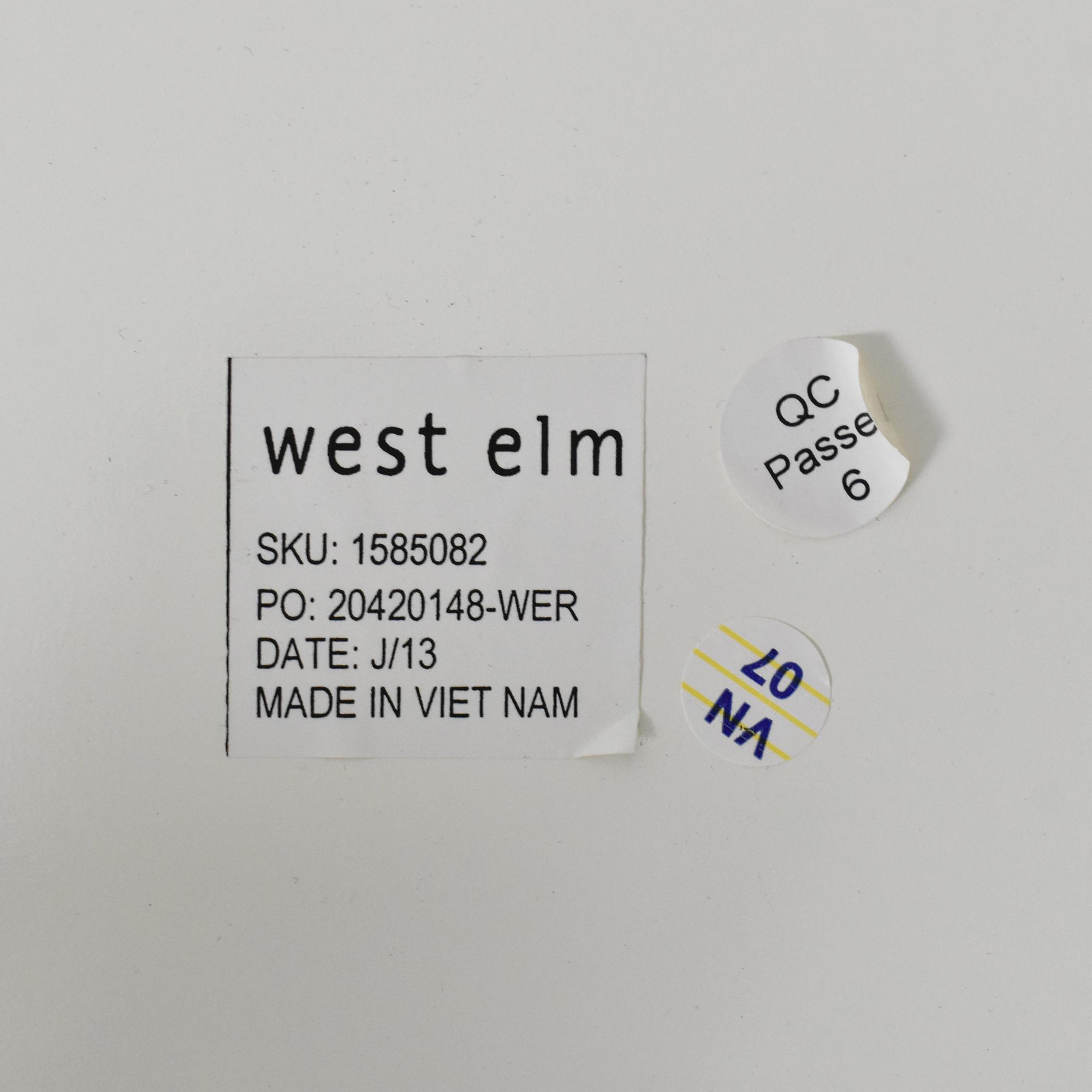 West Elm West Elm Parsons End Table price