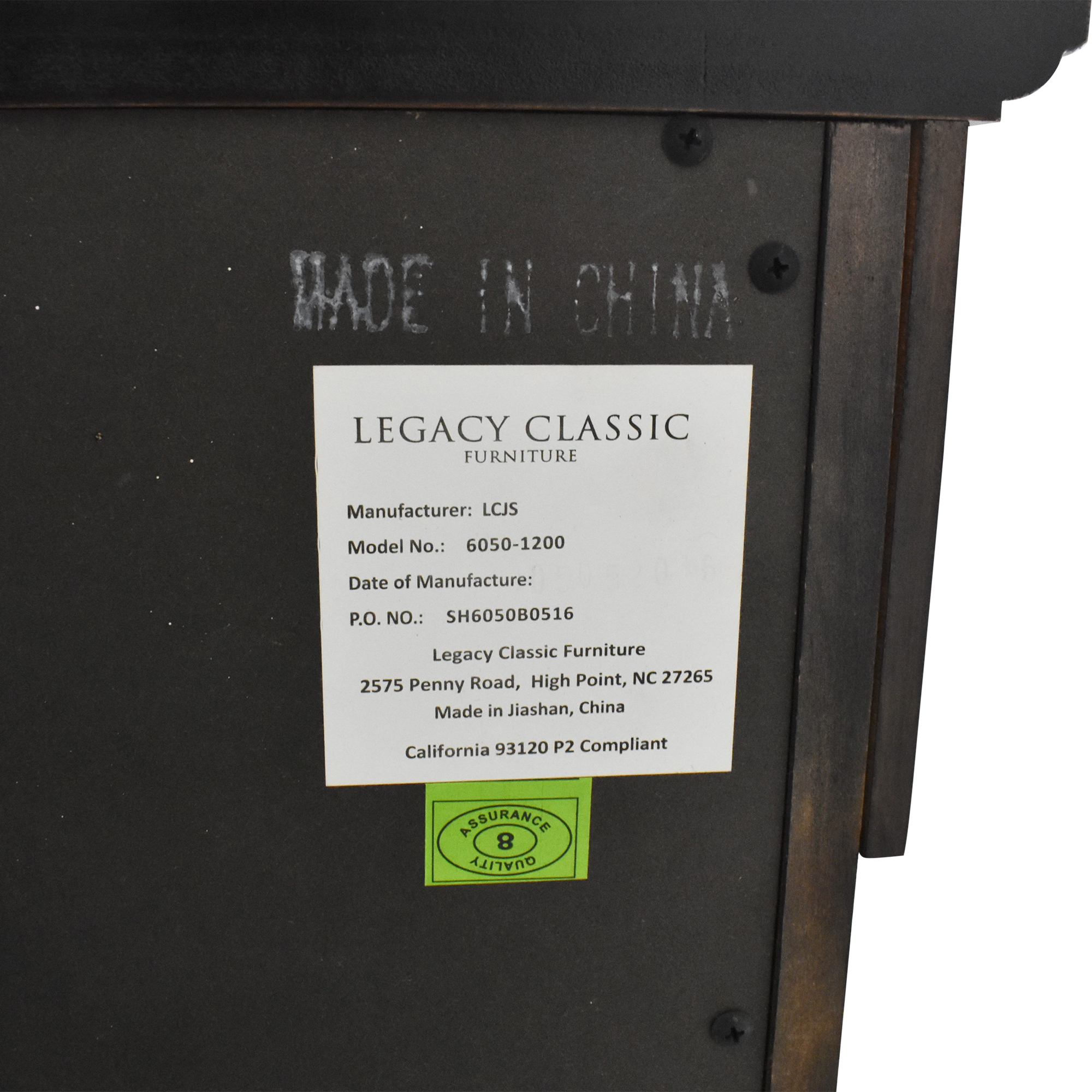 Legacy Classic Furniture Legacy Classic Furniture Double Dresser with Mirror for sale