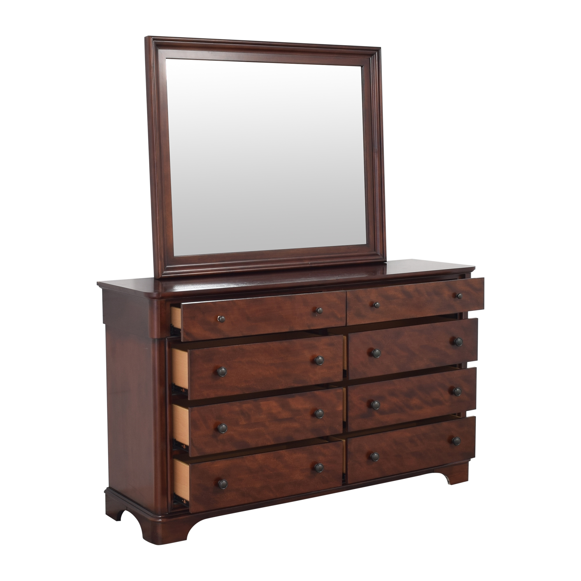 Legacy Classic Furniture Legacy Classic Furniture Double Dresser with Mirror pa