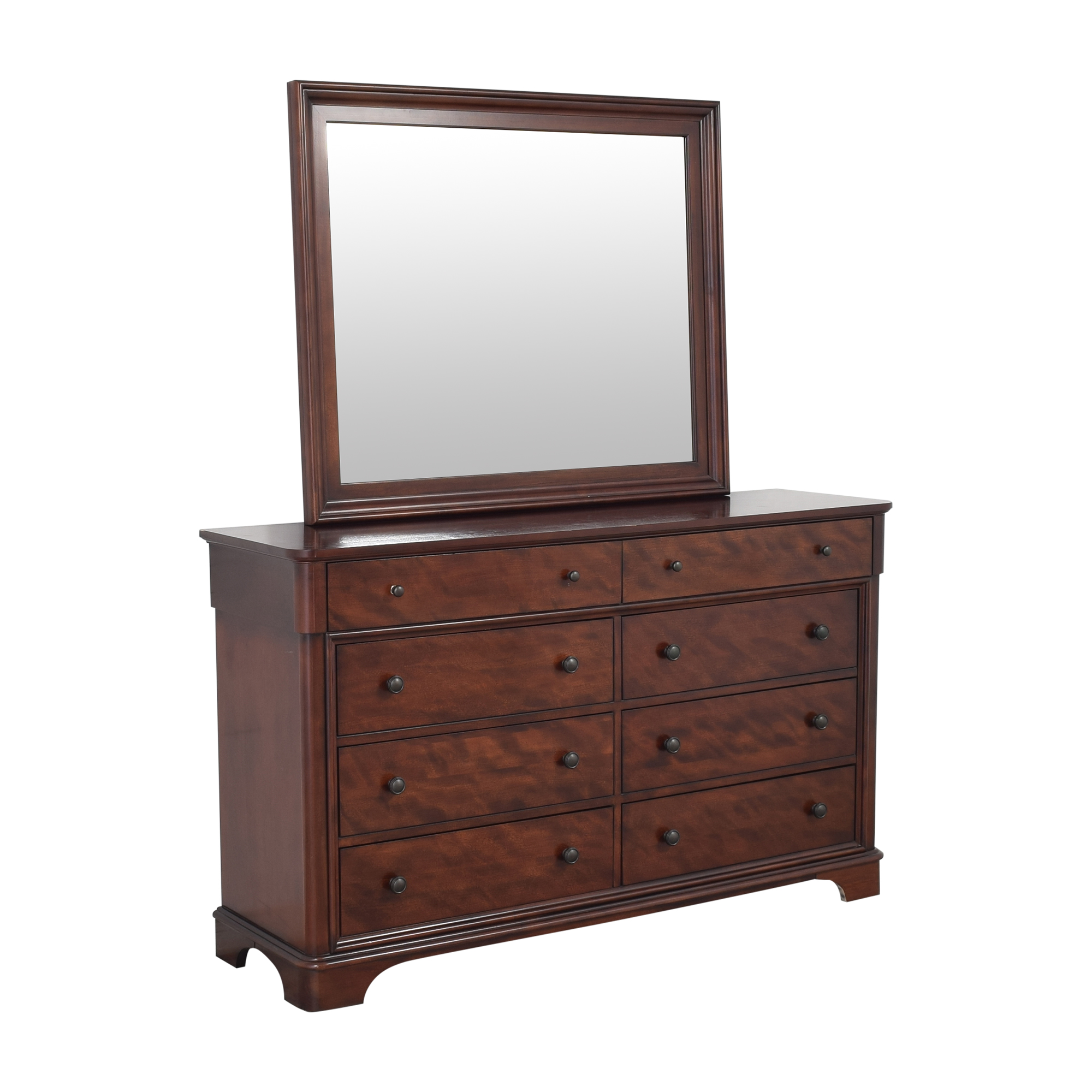 Legacy Classic Furniture Legacy Classic Furniture Double Dresser with Mirror dimensions