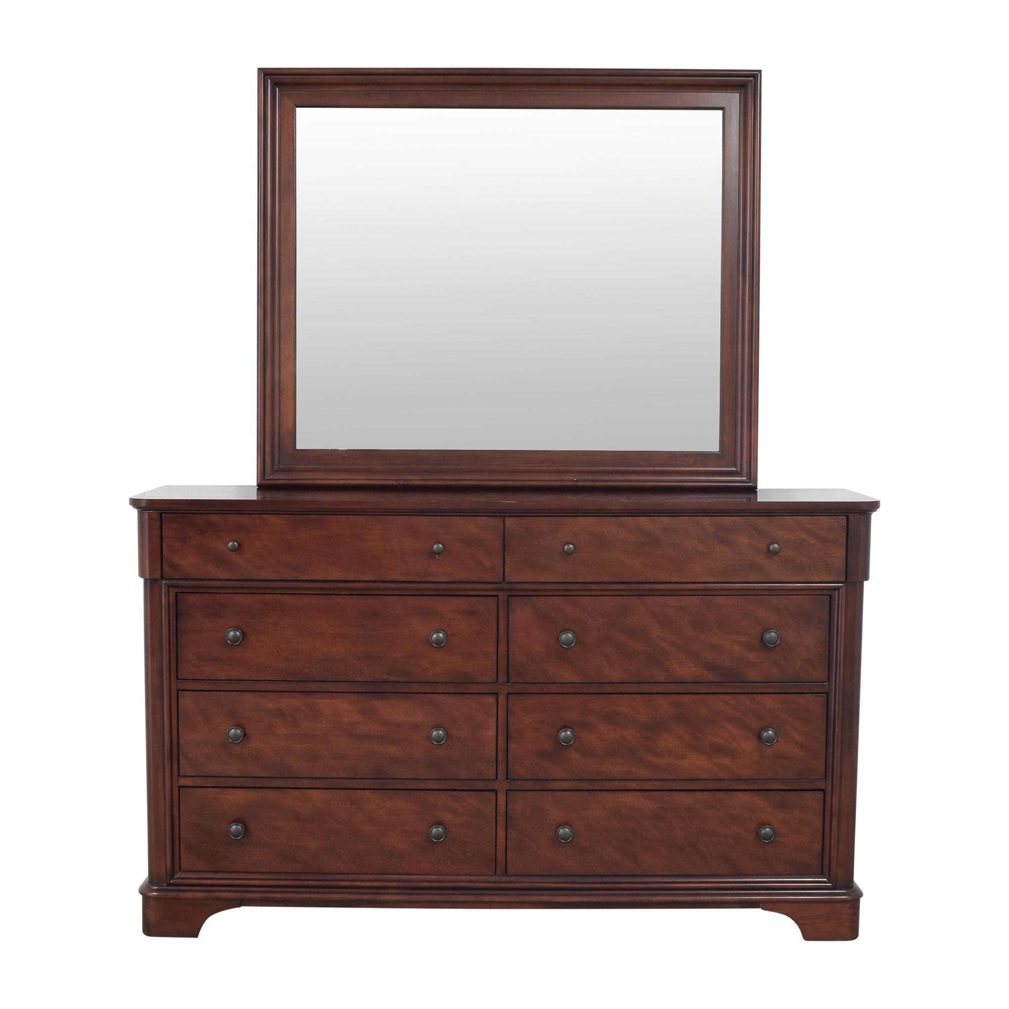 Legacy Classic Furniture Legacy Classic Furniture Double Dresser with Mirror nj
