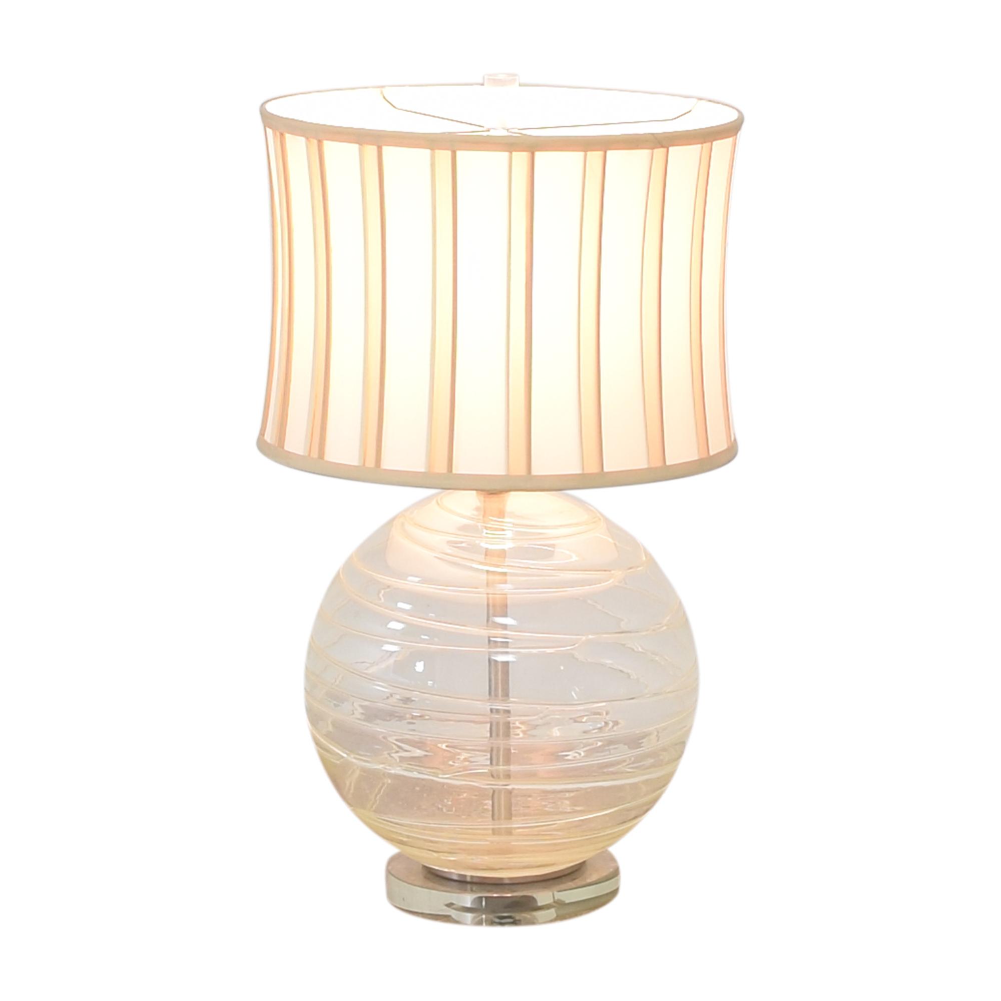 Striped Orb Lamp price