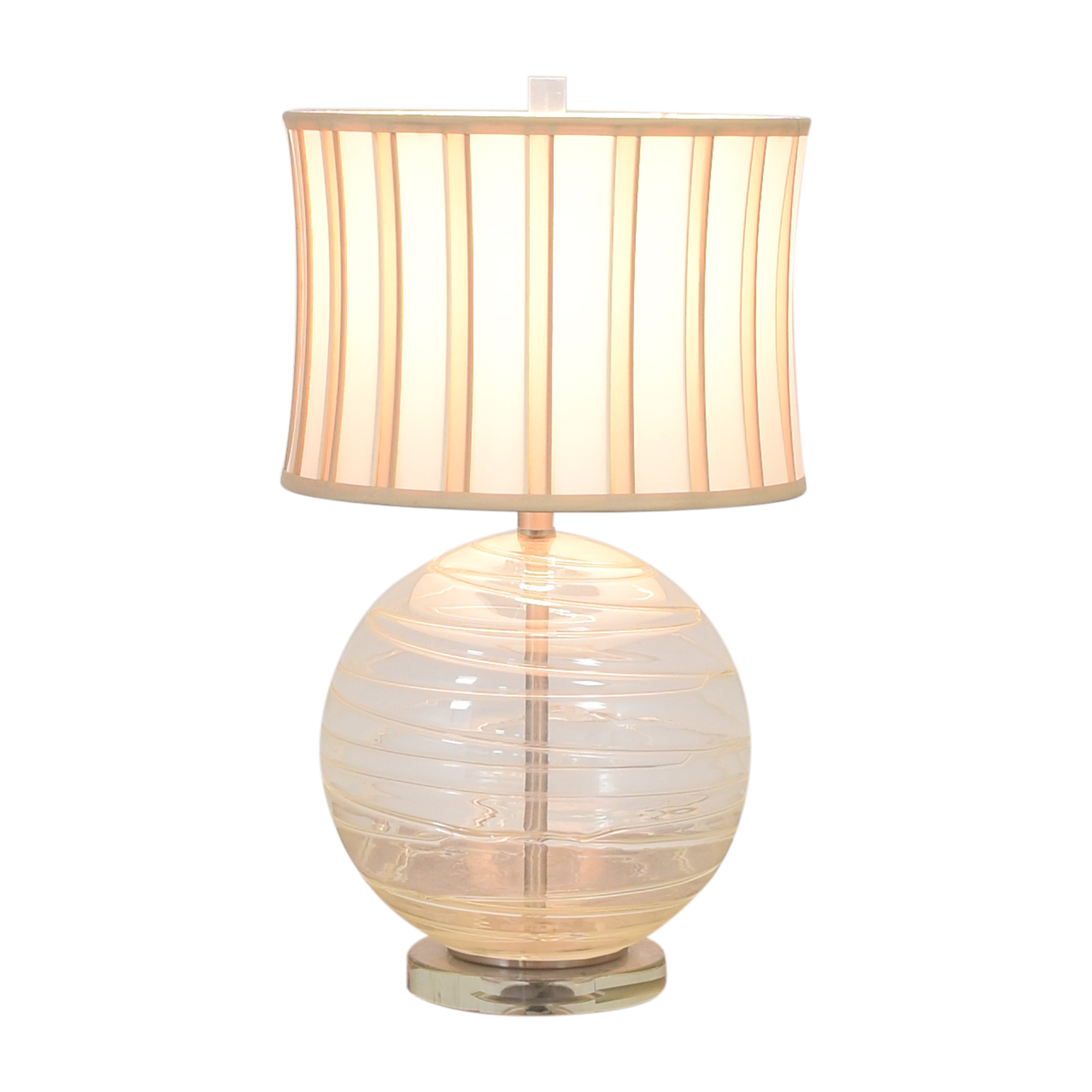 Striped Orb Lamp for sale