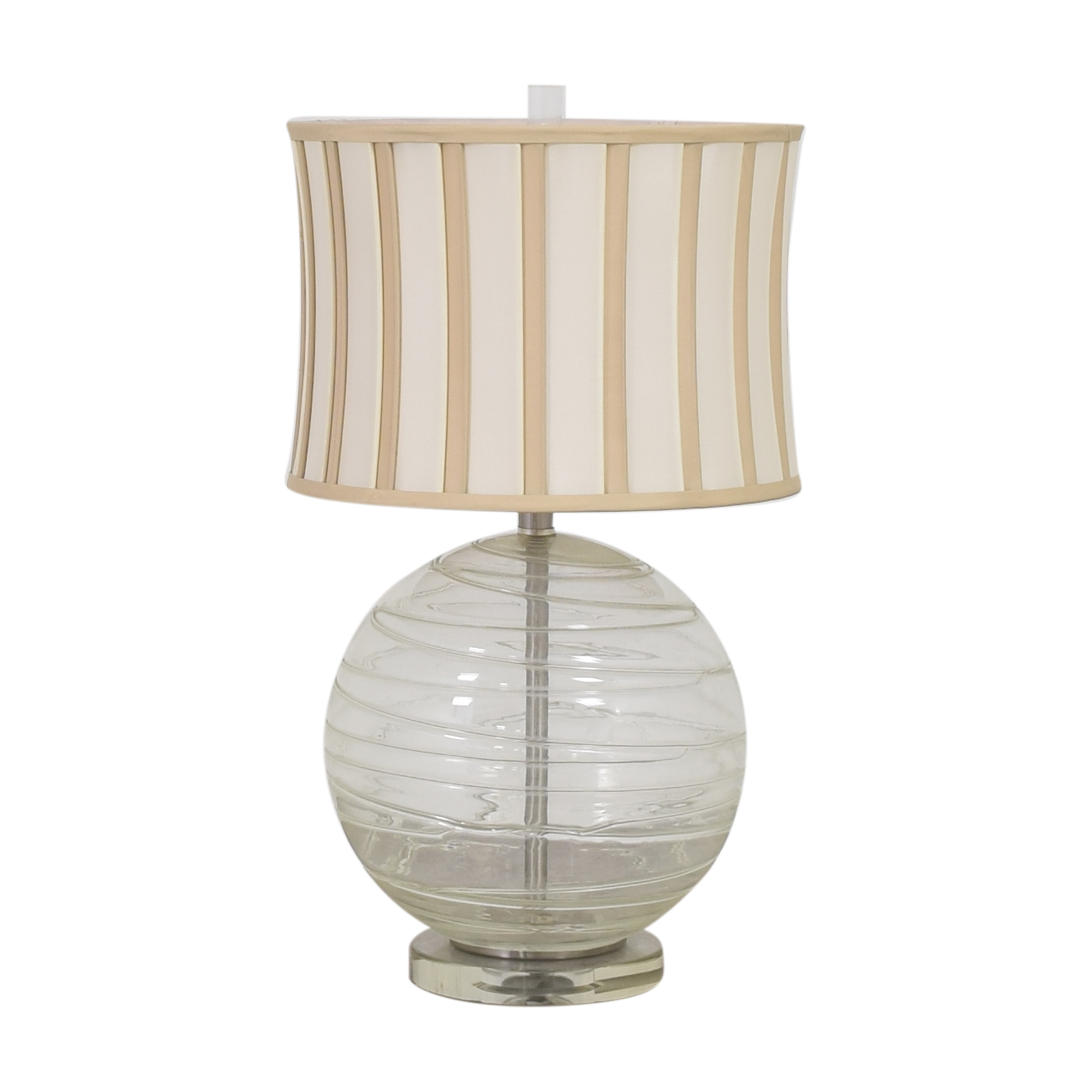 Striped Orb Lamp ma