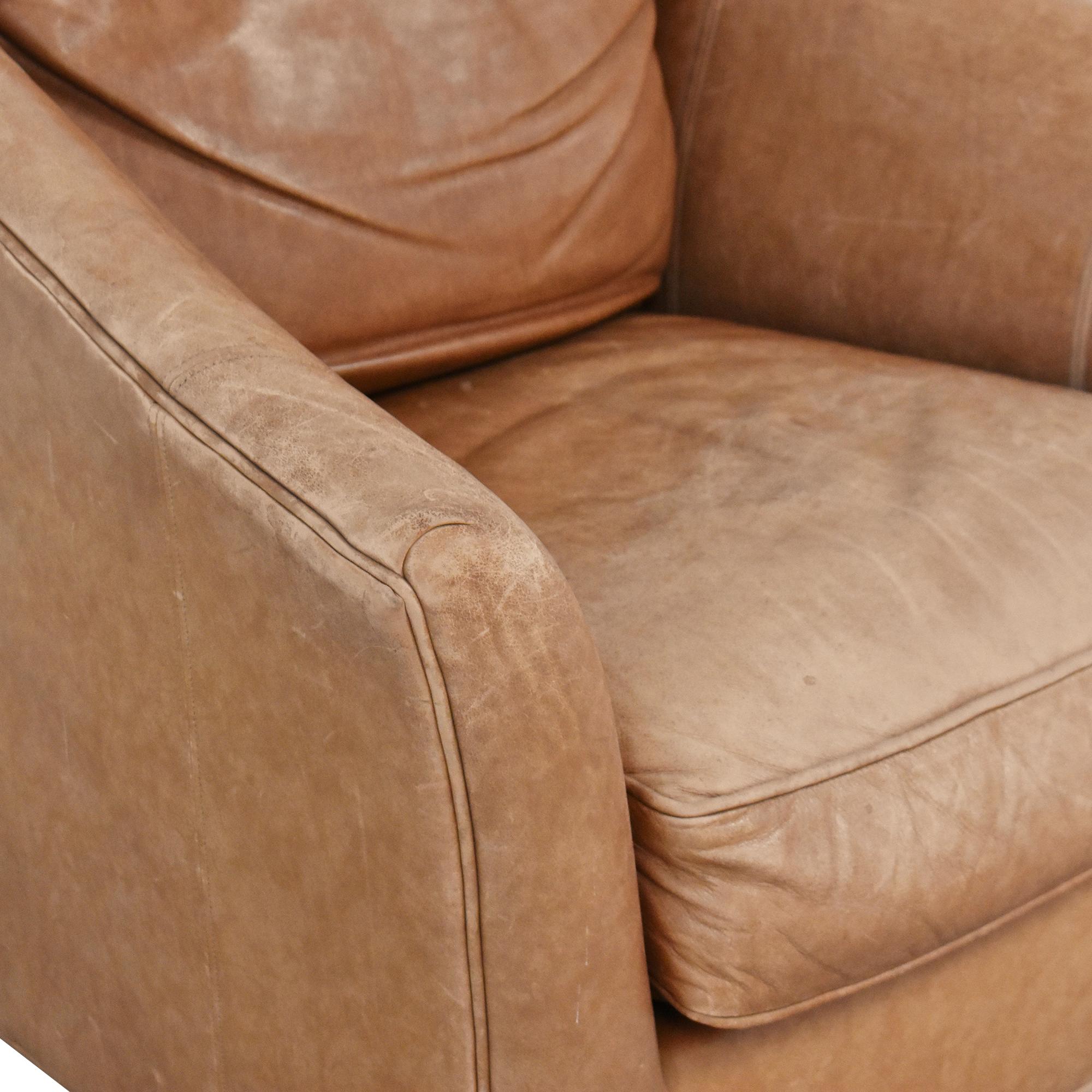 Ethan Allen Ethan Allen Flare Arm Accent Chair ct