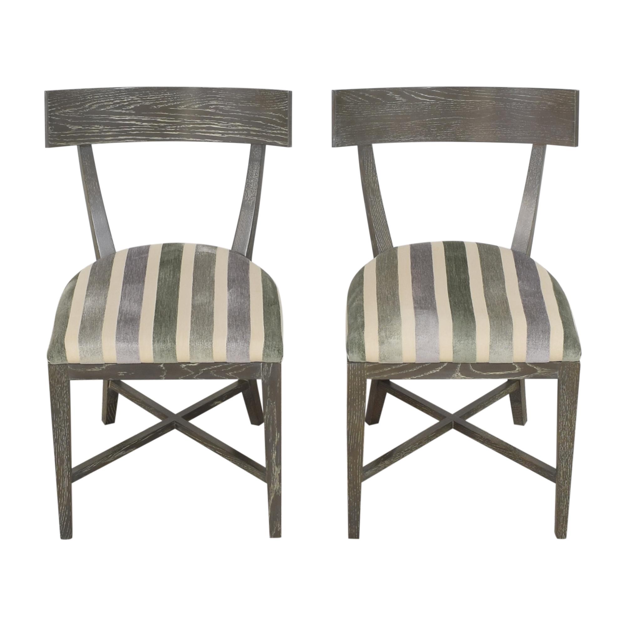 Arteriors Arteriors Caden Dining Chairs second hand