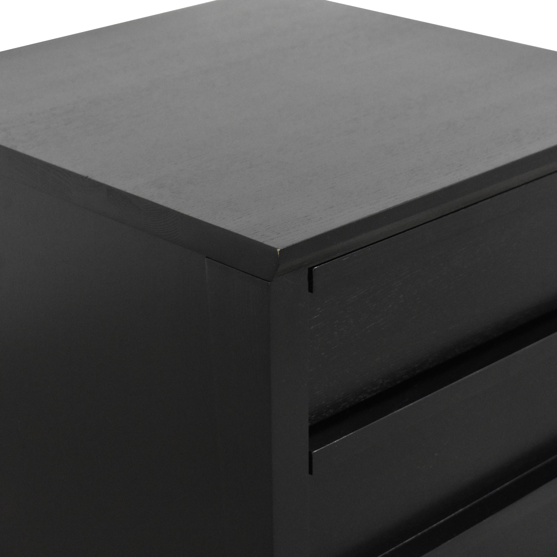 buy Crate & Barrel Spotlight Filing Cabinet Crate & Barrel