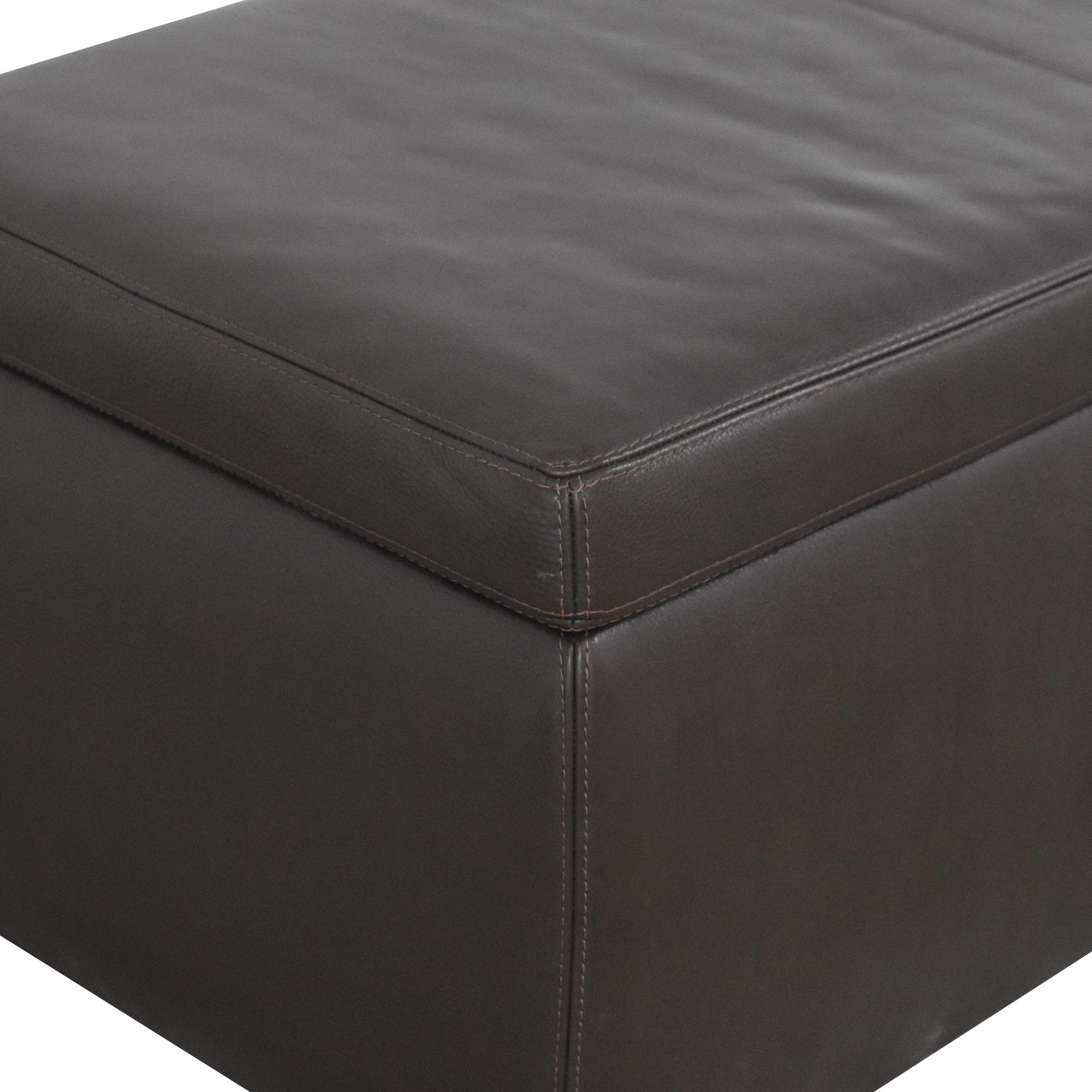 buy Room & Board Room & Board Tyler Storage Ottoman online