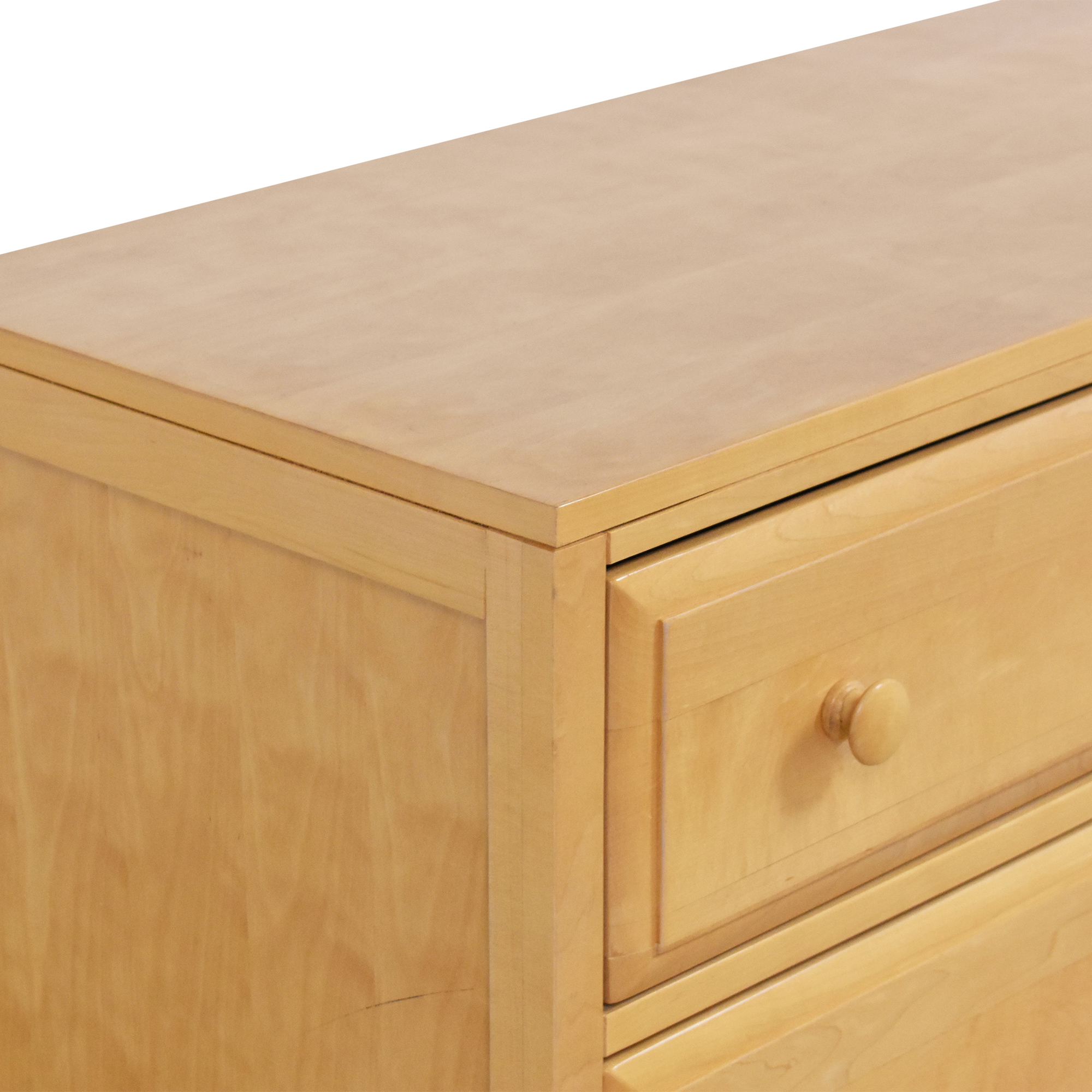 Six Drawer Double Dresser used