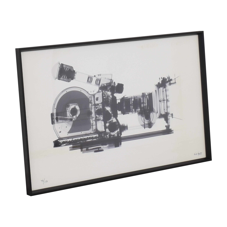 shop Restoration Hardware Nick Veasey X-Ray Photography: Movie Camera Restoration Hardware Decor