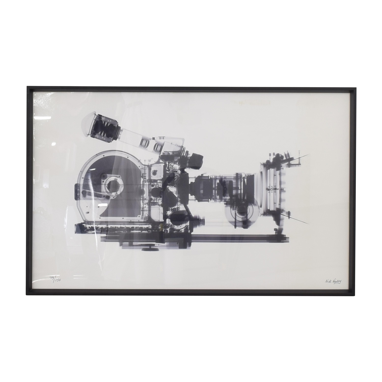buy Restoration Hardware Nick Veasey X-Ray Photography: Movie Camera Restoration Hardware Wall Art
