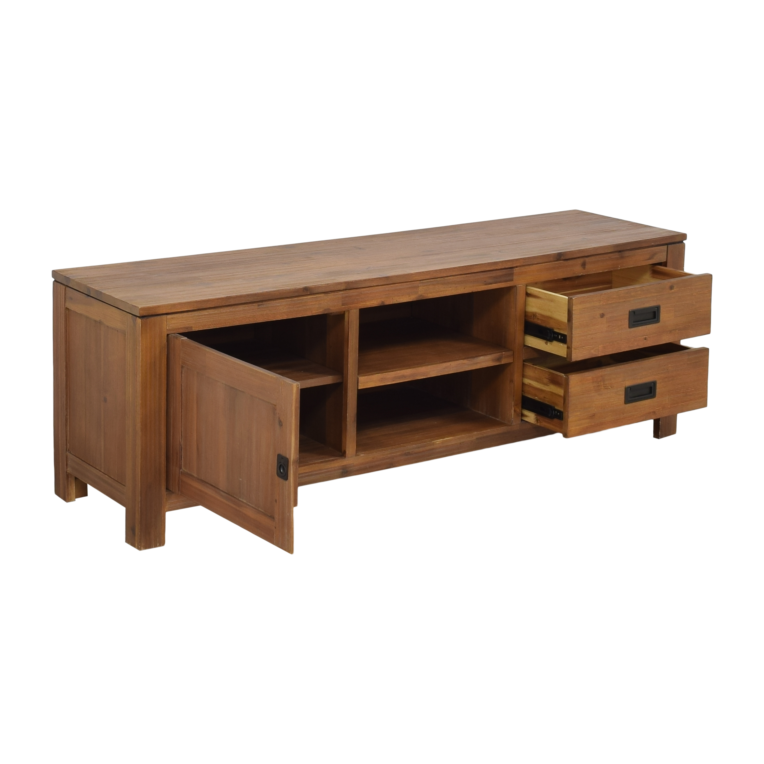 Macy's Macy's Champagne TV Stand second hand