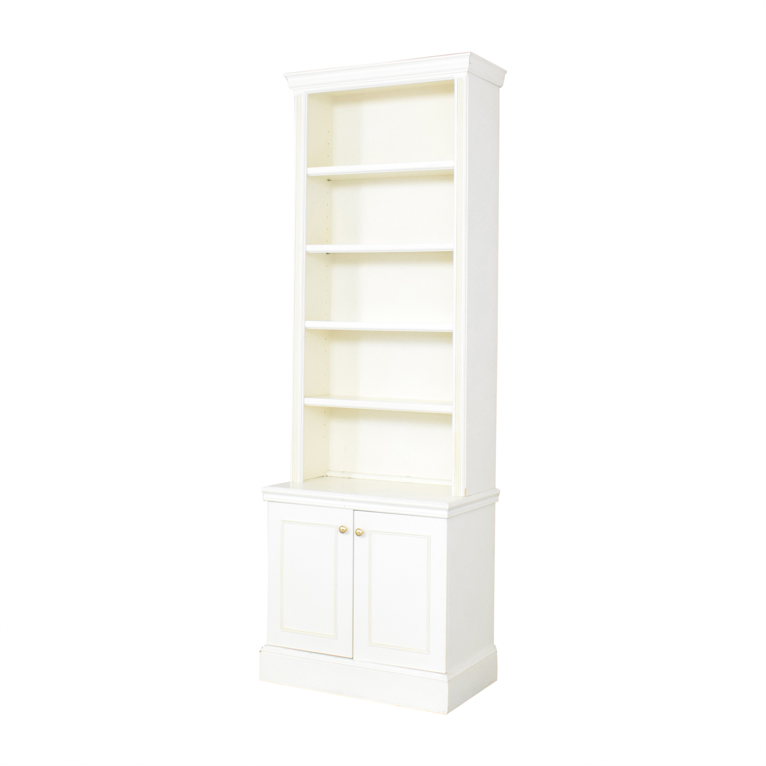 Custom Two Door Bookcase nj