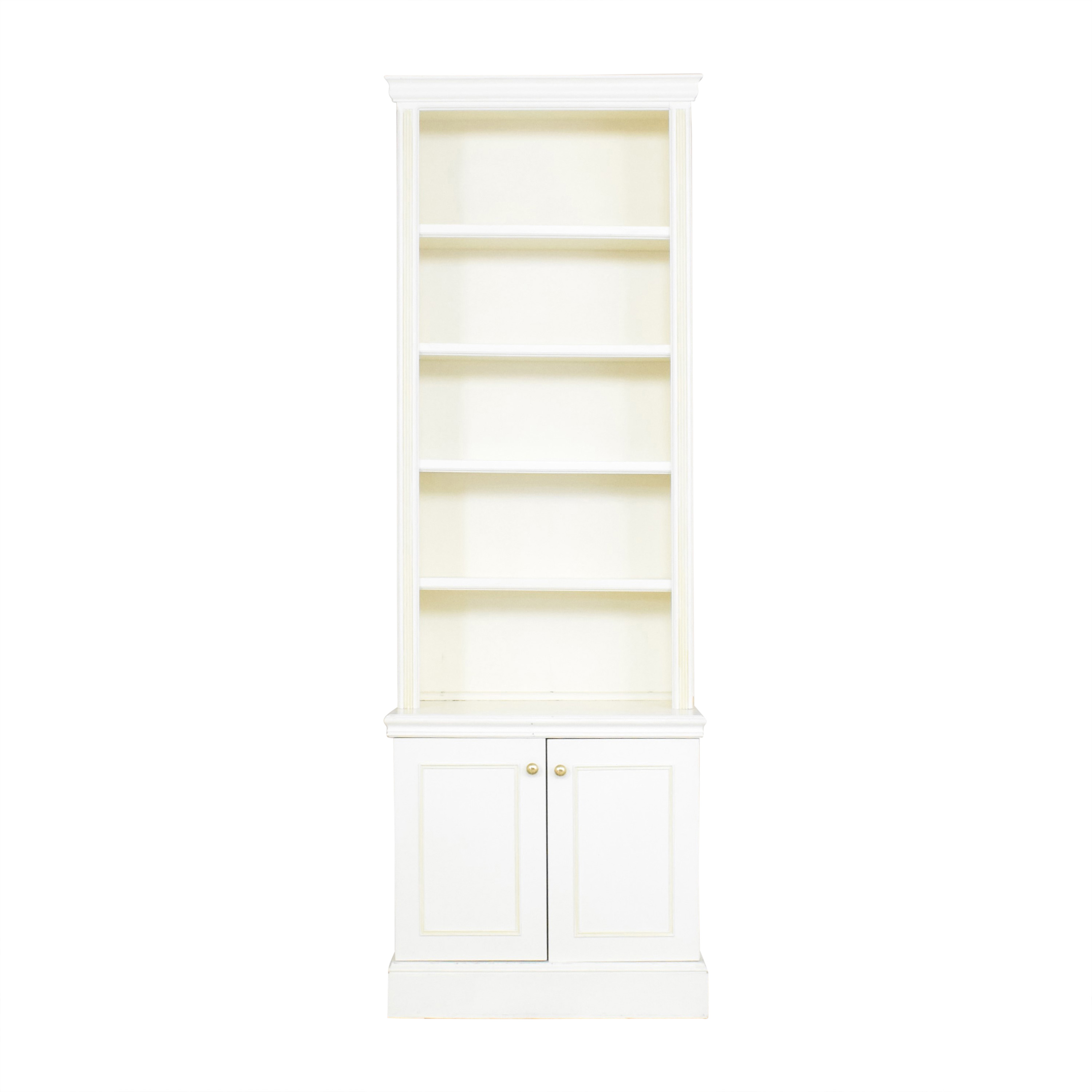 shop Custom Two Door Bookcase  Bookcases & Shelving