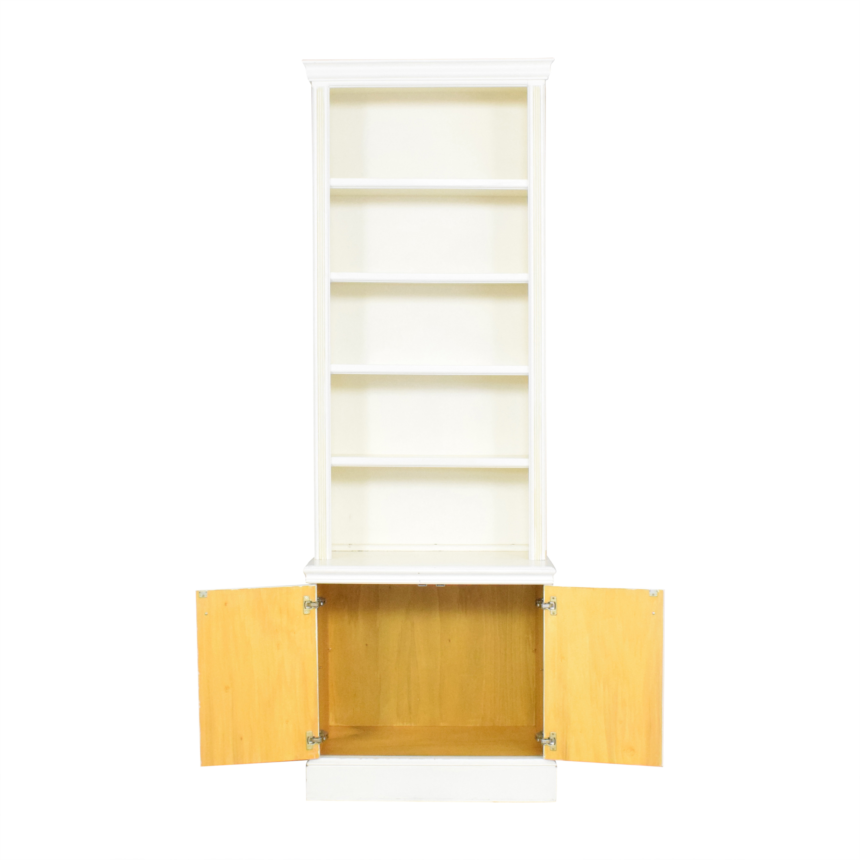 buy Custom Two Door Bookcase  Storage