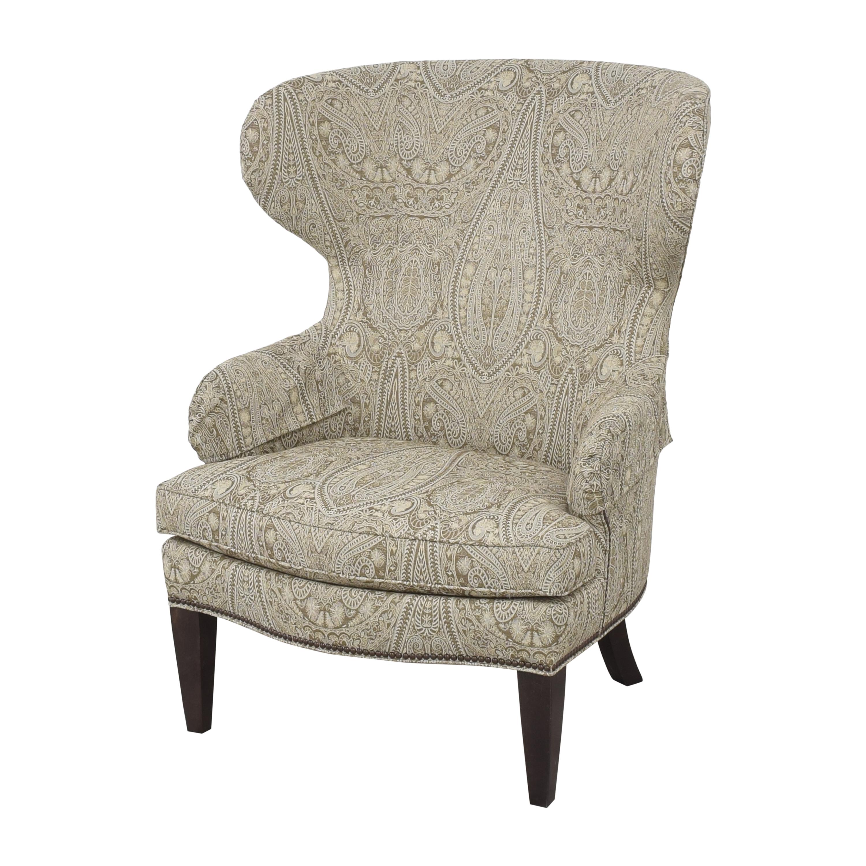 buy Ethan Allen Rand Wing Chair Ethan Allen
