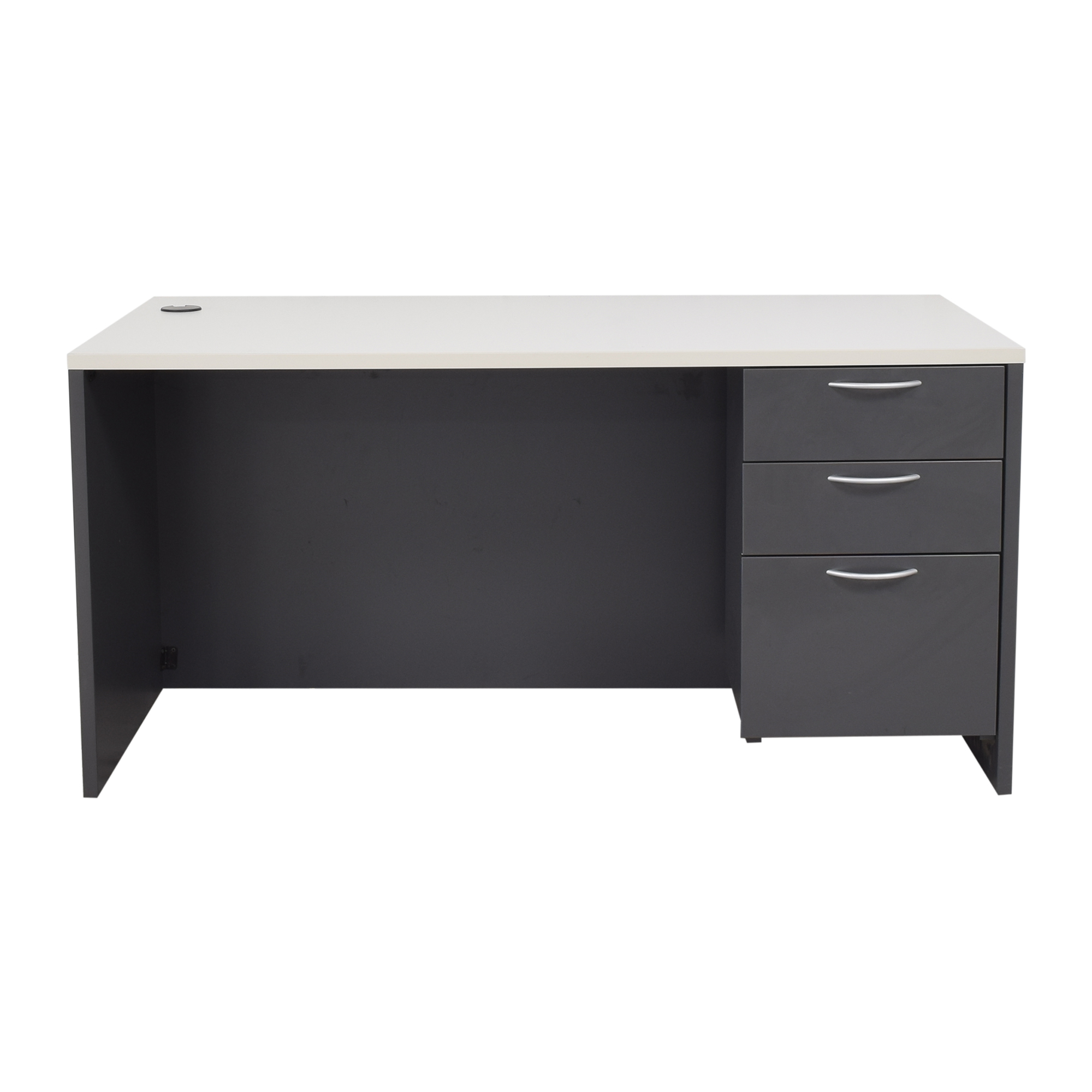 Office Furniture Heaven Office Furniture Heaven Three Drawer Desk second hand