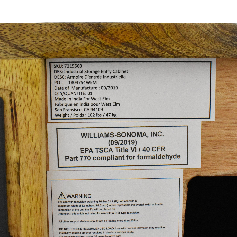 West Elm Industrial Storage Cabinet / Storage