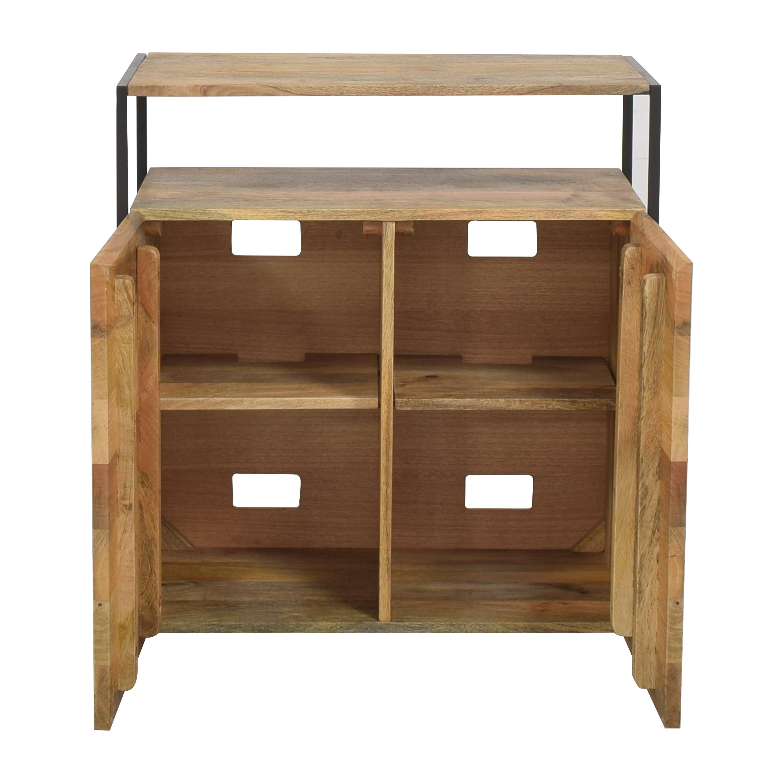 buy West Elm Industrial Storage Cabinet West Elm Storage