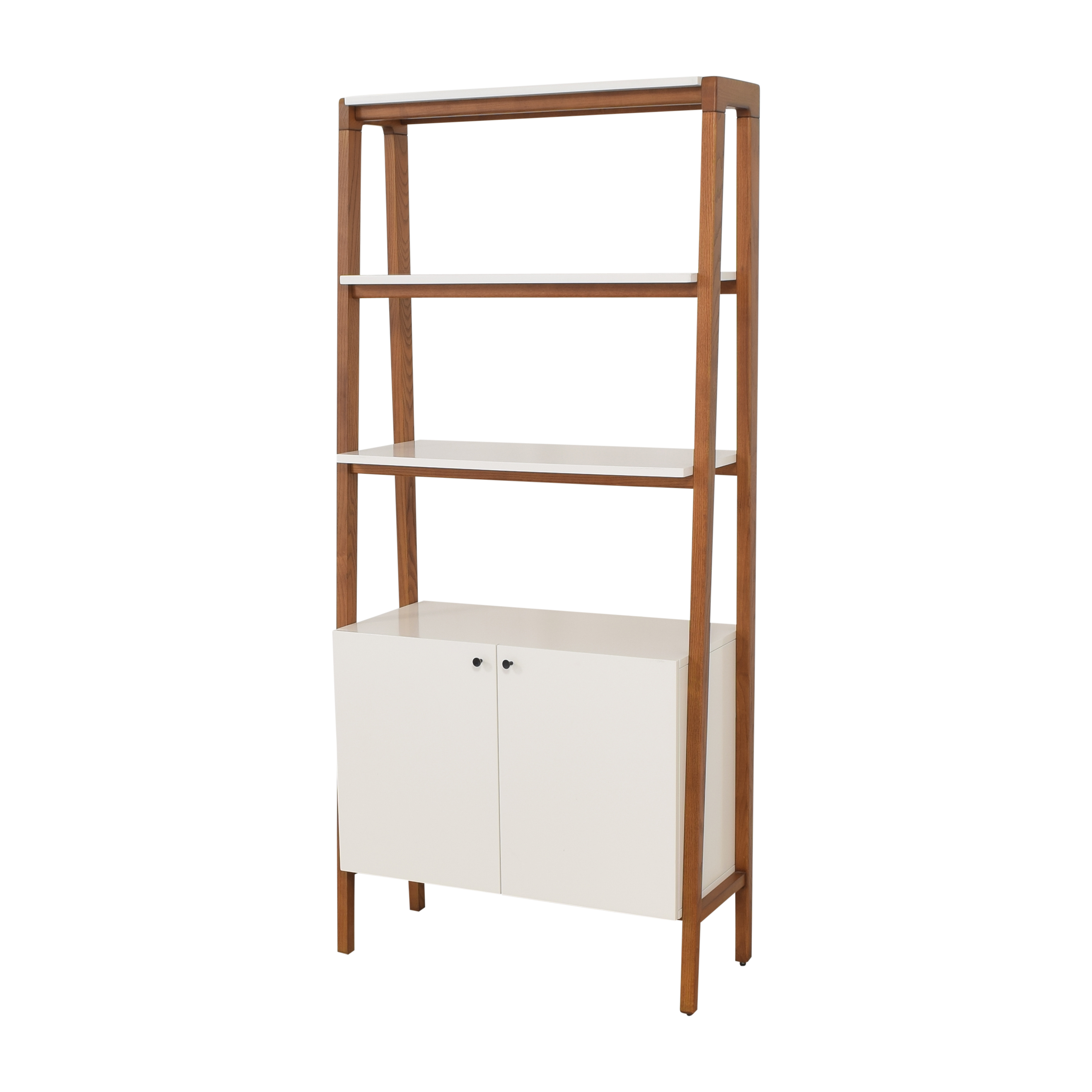 buy West Elm Modern Cabinet Bookcase West Elm Storage