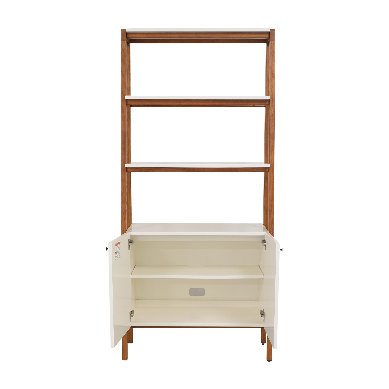West Elm West Elm Modern Cabinet Bookcase nj
