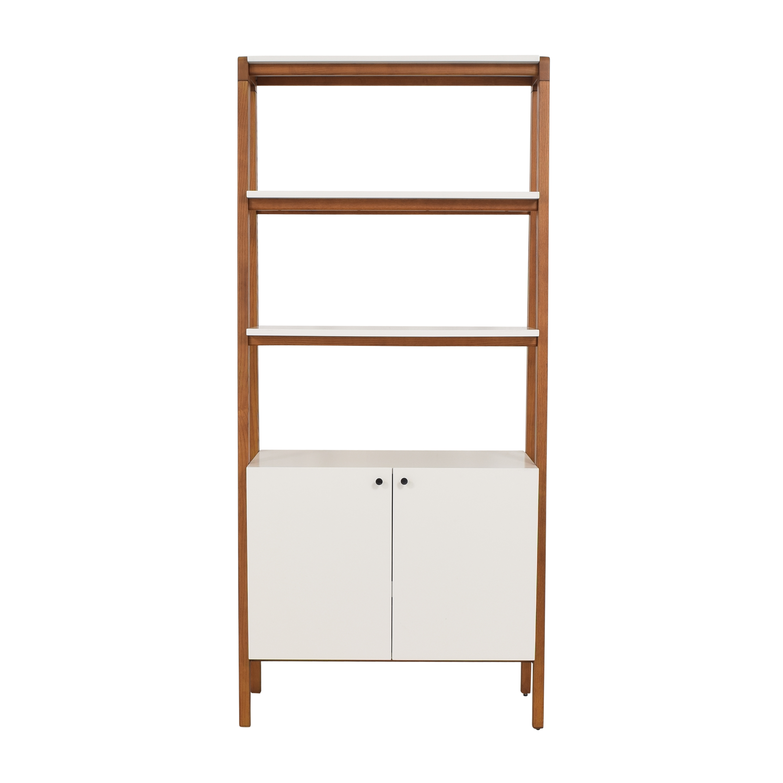 West Elm Modern Cabinet Bookcase / Bookcases & Shelving